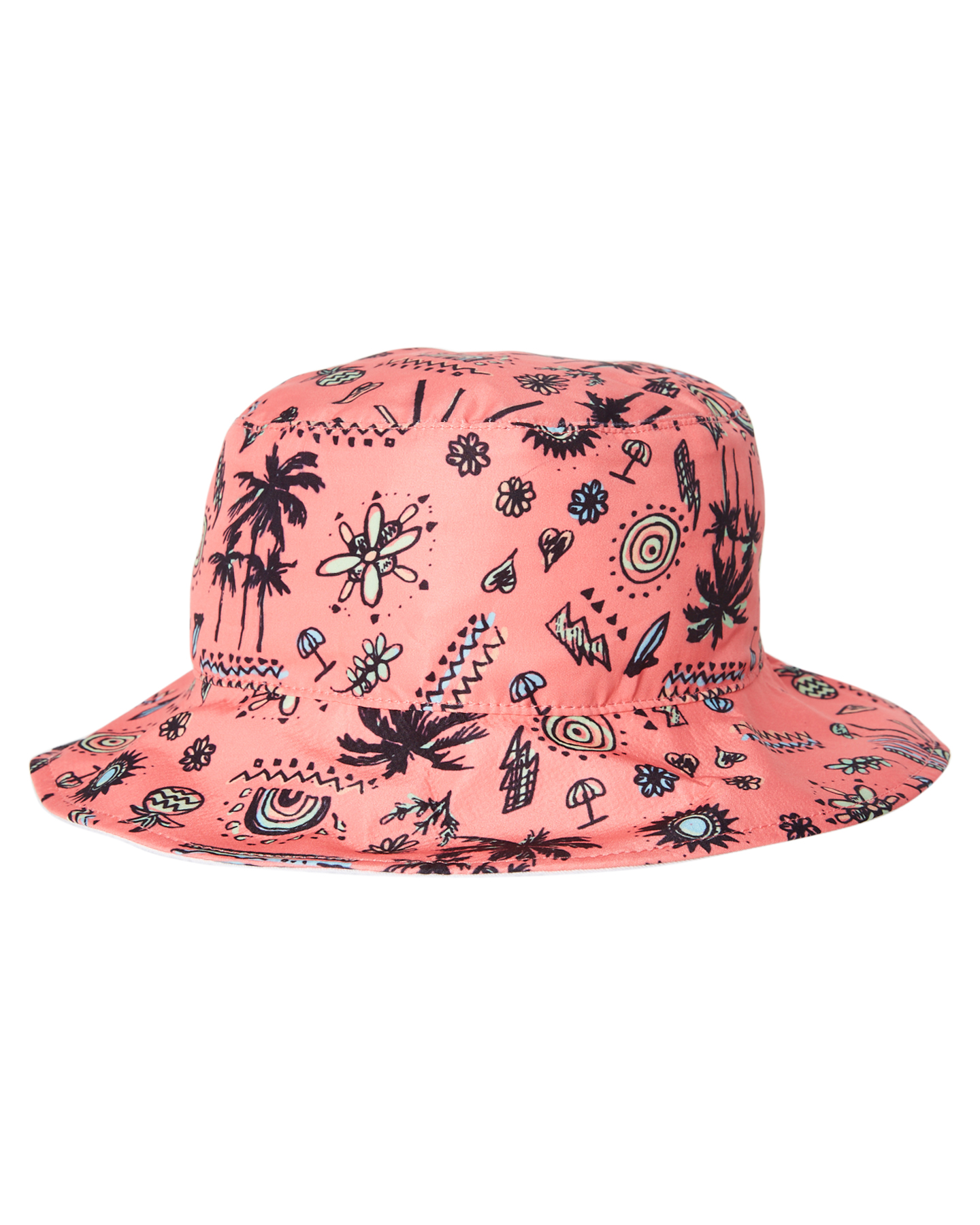 404d2815fe3 Details about Rip Curl Girls Girls Anak Bucket Hat - Kids Cotton Polyester  Pink