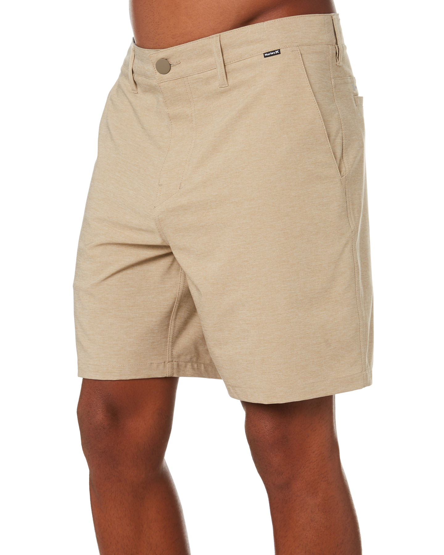 New-Hurley-Men-039-s-Dri-Fit-Chino-Short-21In-Mens-Short-Fitted-Spandex-Grey thumbnail 12