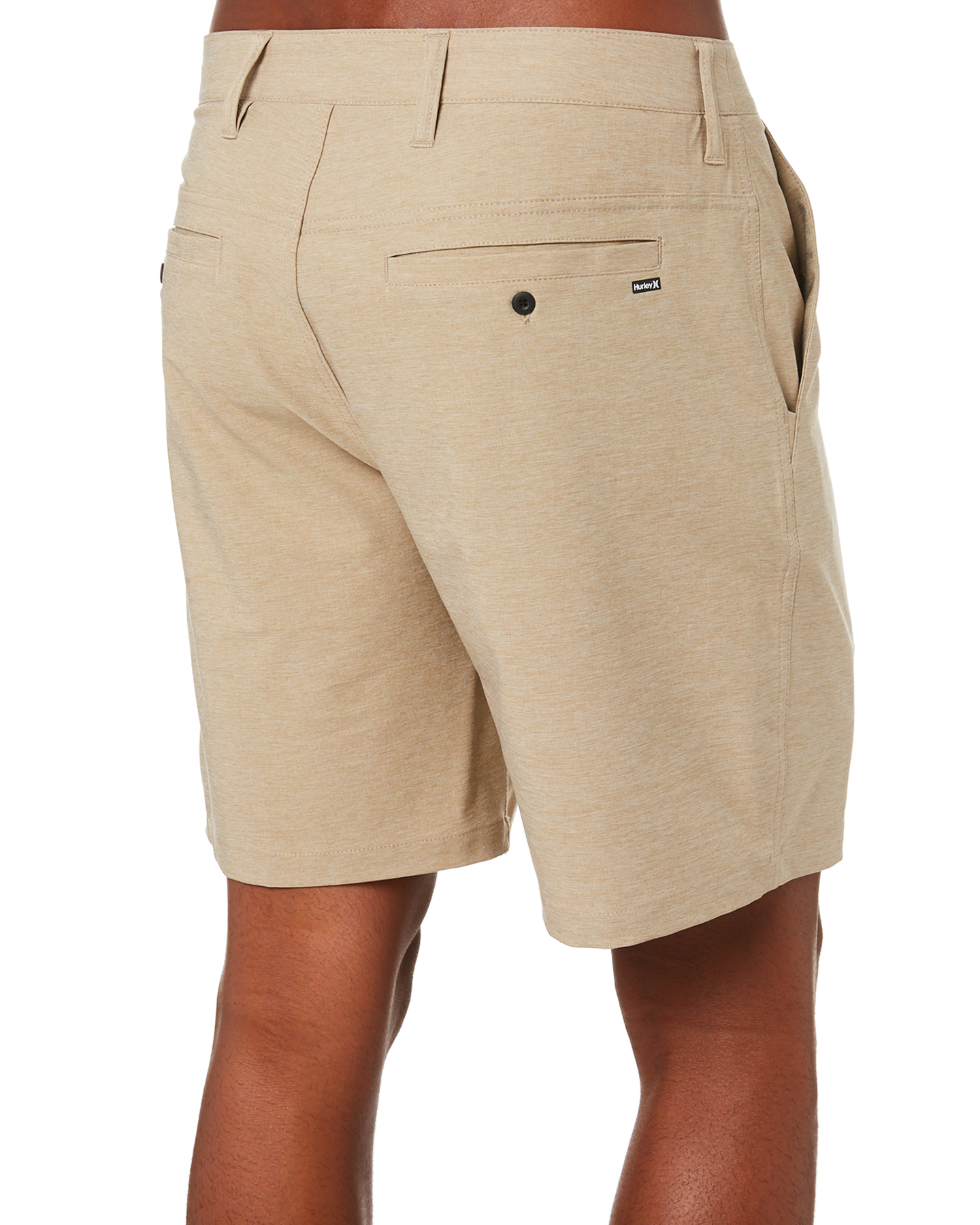 New-Hurley-Men-039-s-Dri-Fit-Chino-Short-21In-Mens-Short-Fitted-Spandex-Grey thumbnail 14