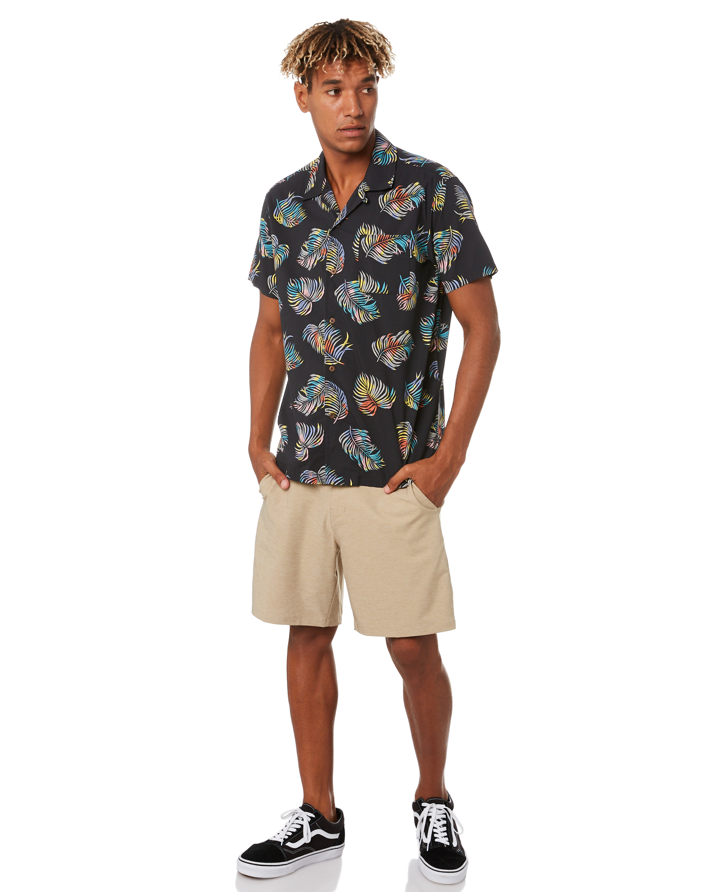 New-Hurley-Men-039-s-Dri-Fit-Chino-Short-21In-Mens-Short-Fitted-Spandex-Grey thumbnail 15