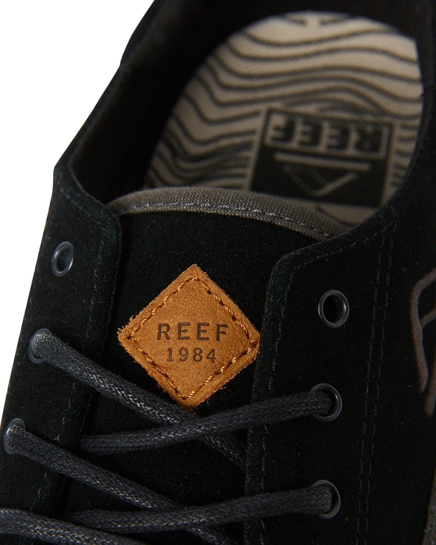 6474cc48e2 Reef Men s Mens Society Se Shoe Rubber Black