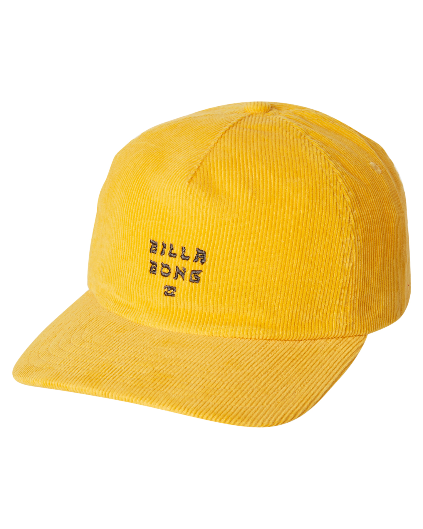 Details about New Billabong Men s Peyote Cord Snapback Cap Cotton Corduroy  Yellow 4abb02a05659