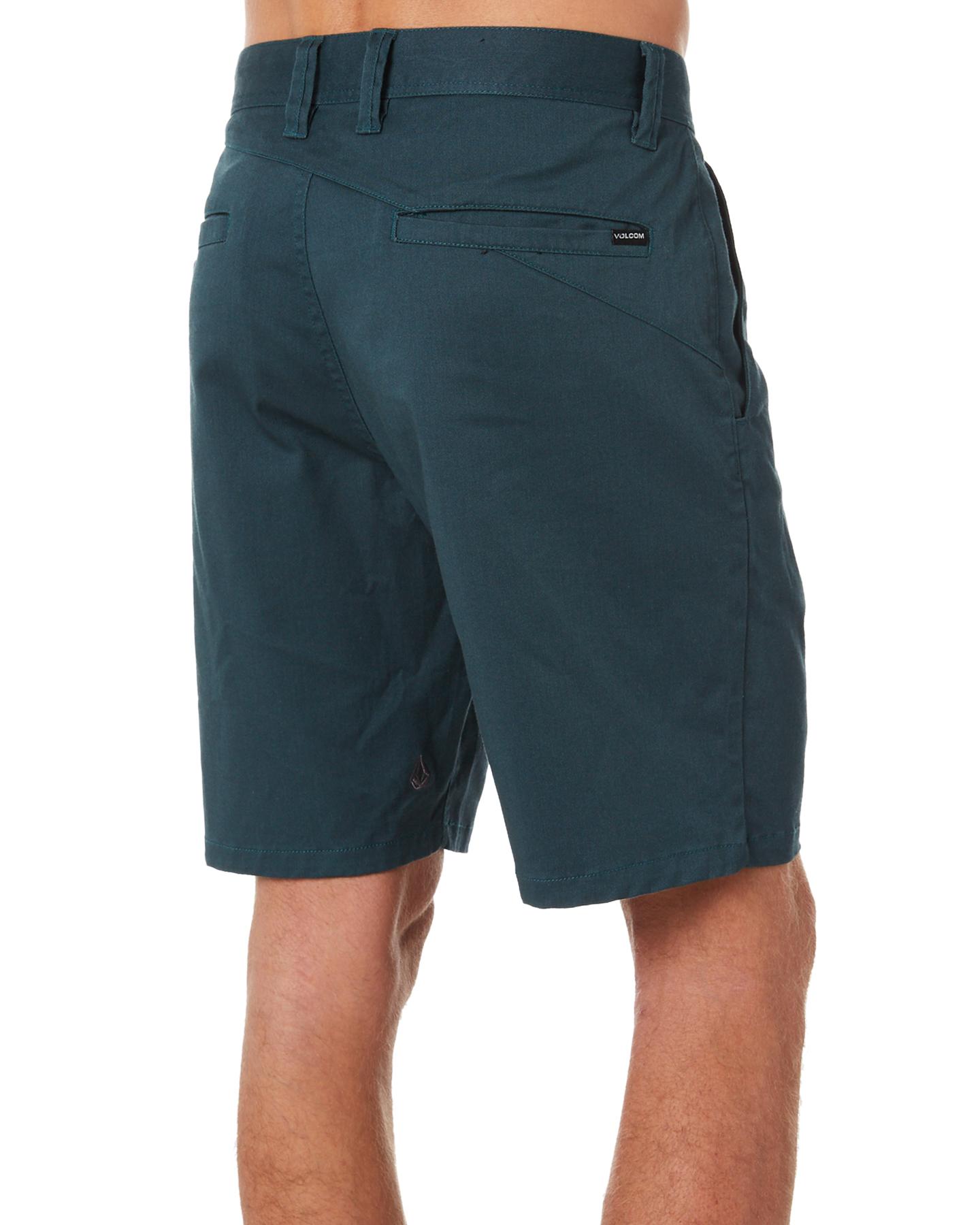 83d18284 New Volcom Men's Frickin Modern Stretch 19 Mens Short Blue | eBay
