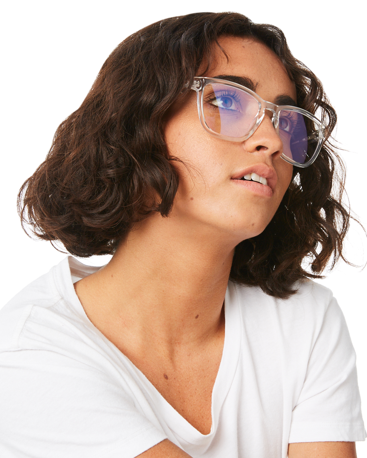 a87f8d77fe3 New Quay Eyewear Women s Hardwire Blue Light Blocker Glasses Natural ...