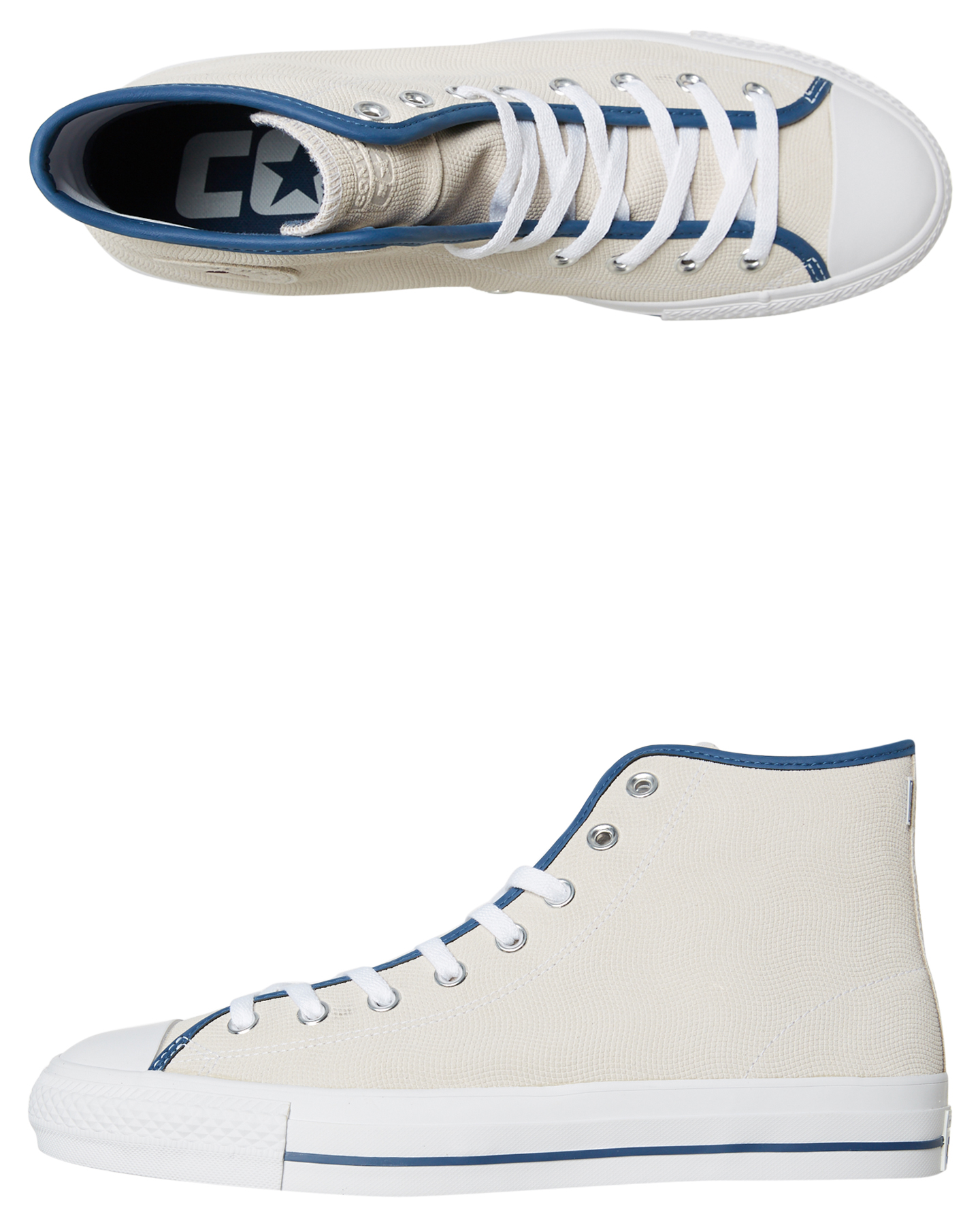 Converse Mens Chuck Taylor All Star Pro Suede Shoe White