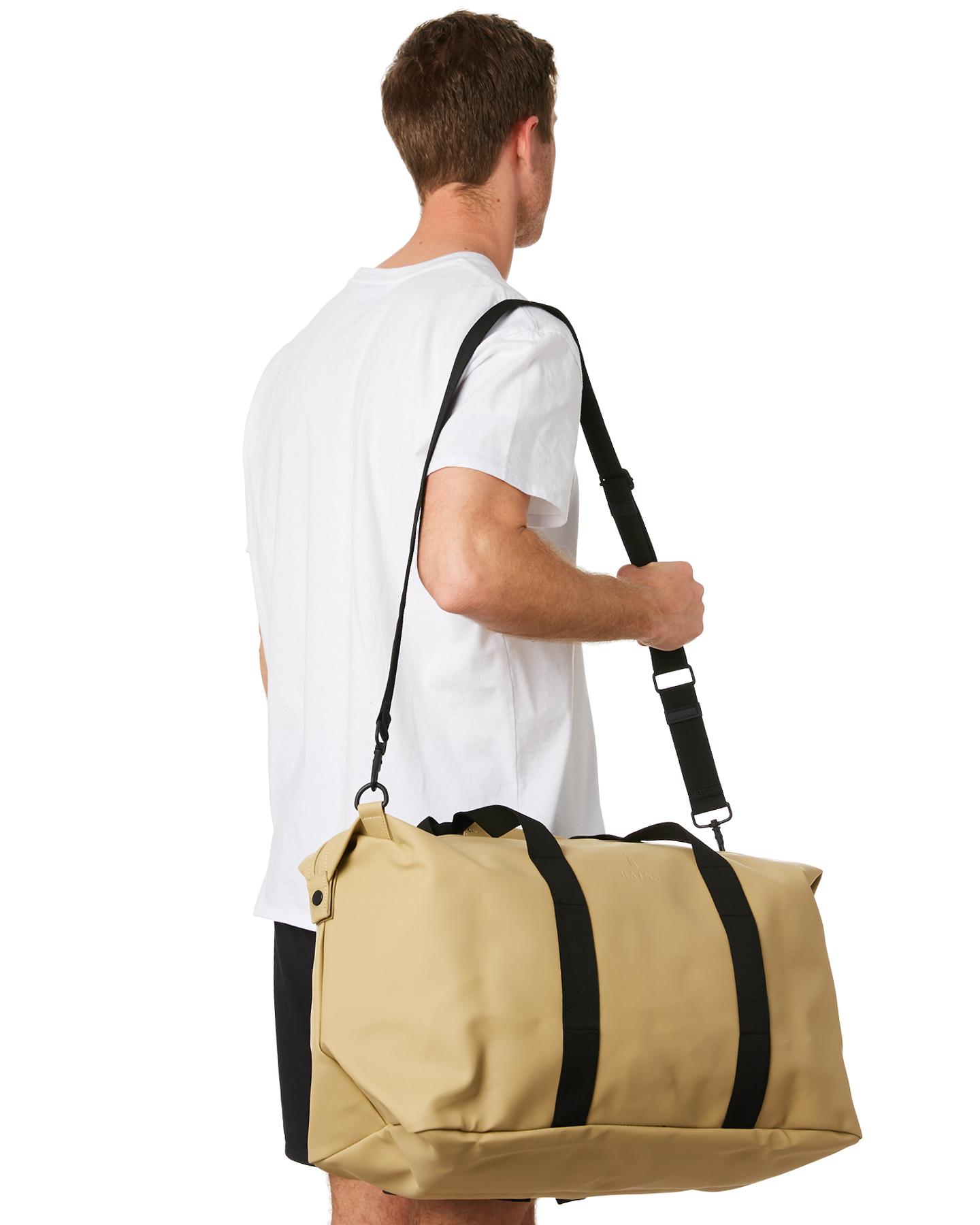 cb18984373 New Rains Men s Weekend 46L Duffle Bag Waterproof Yellow