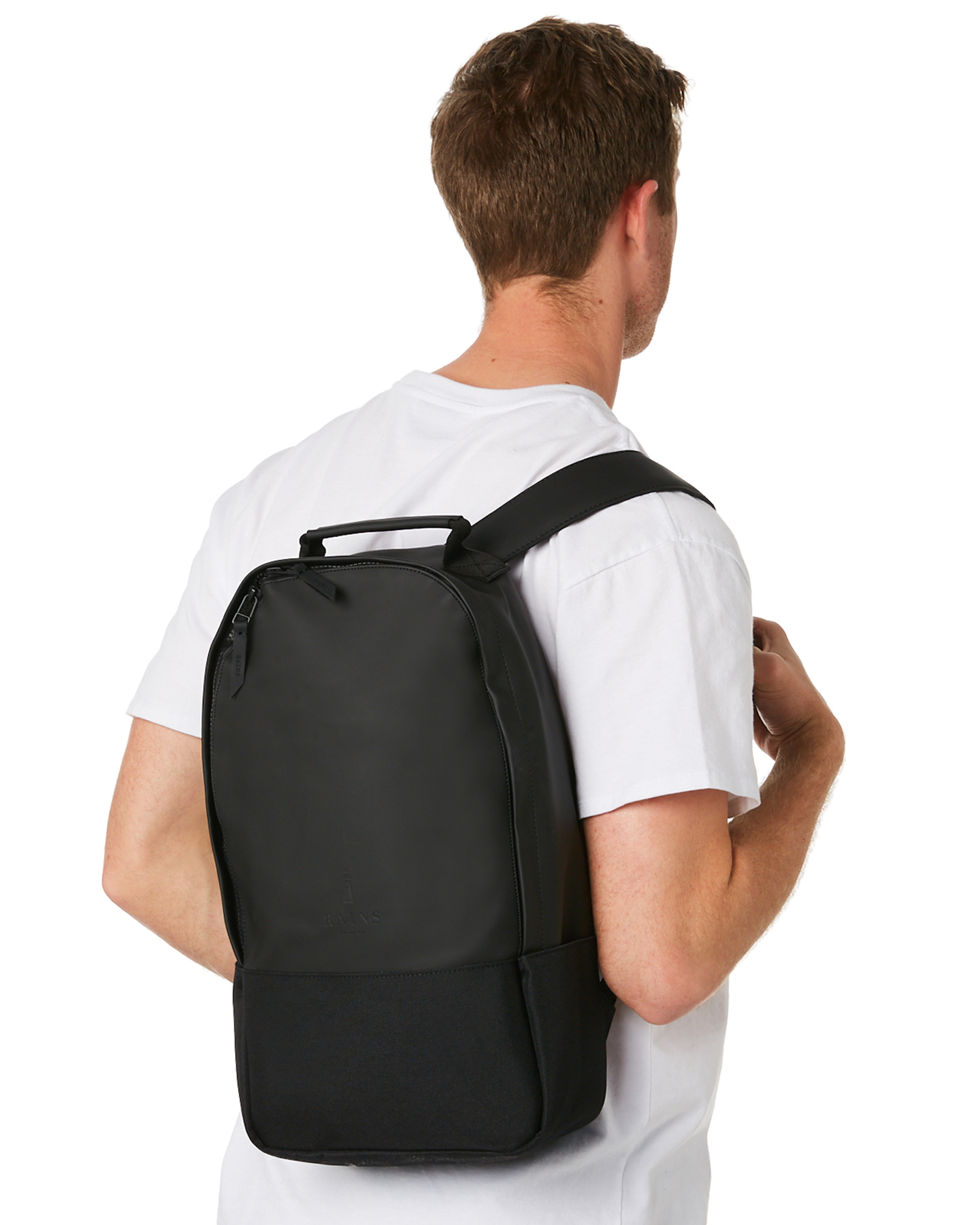 New Rains Men s City 12L Backpack Polyester Blue  8ffe6161bb763