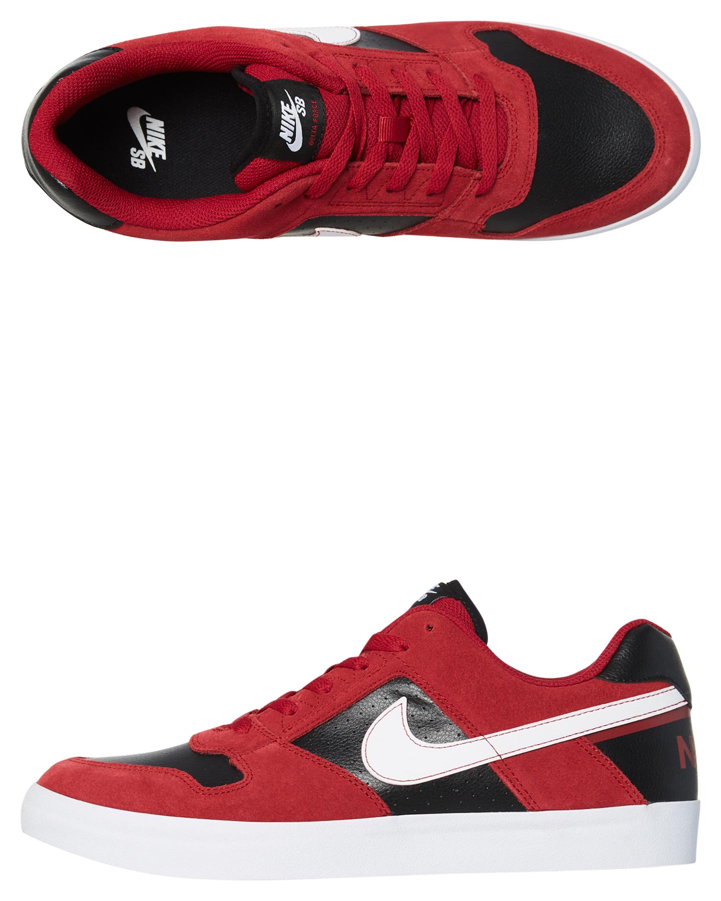 Nike Sb Delta Force Vulc Shoe Red Crush Shoes Size 8   Budget ...