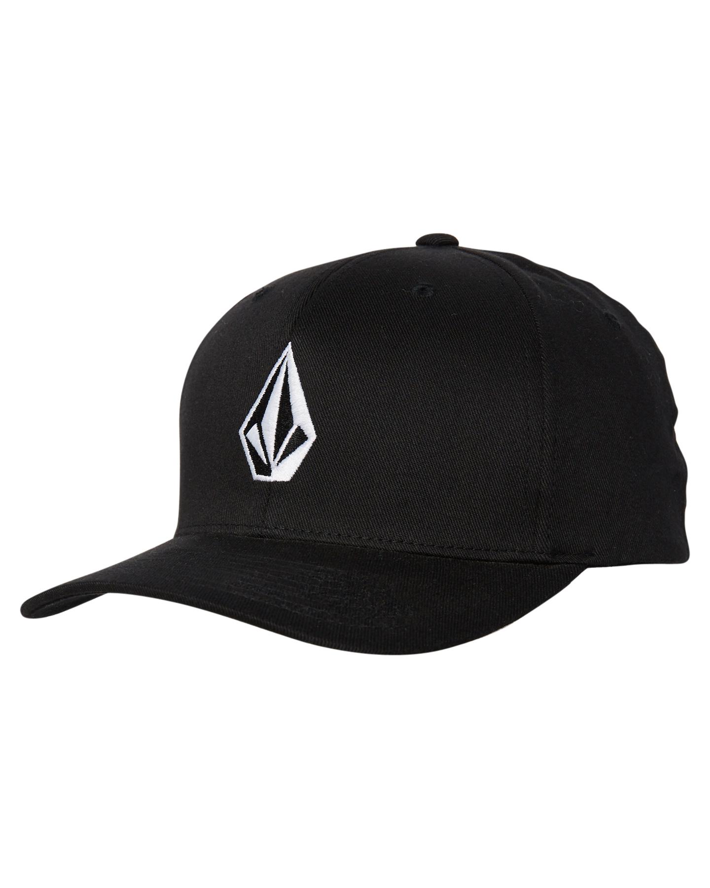Volcom Full Stone Xfit Cap Black