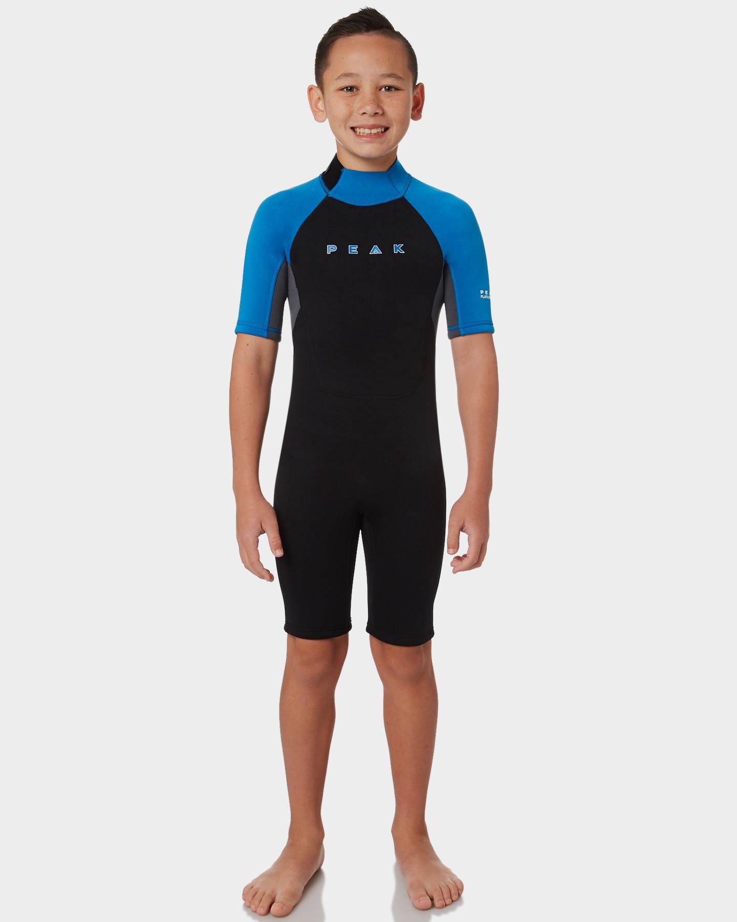 Peak Boys Energy Ss Spring Suit Black Blue