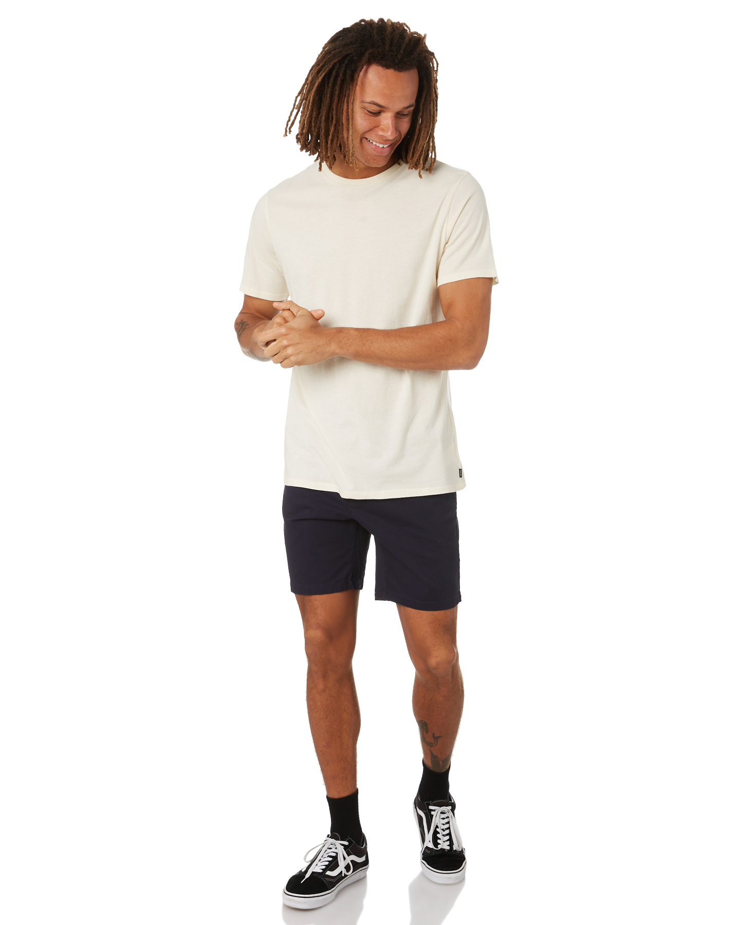 New-Swell-Men-039-s-Dandy-Mens-Chino-Short-Cotton-Fitted-Elastane-Blue thumbnail 24