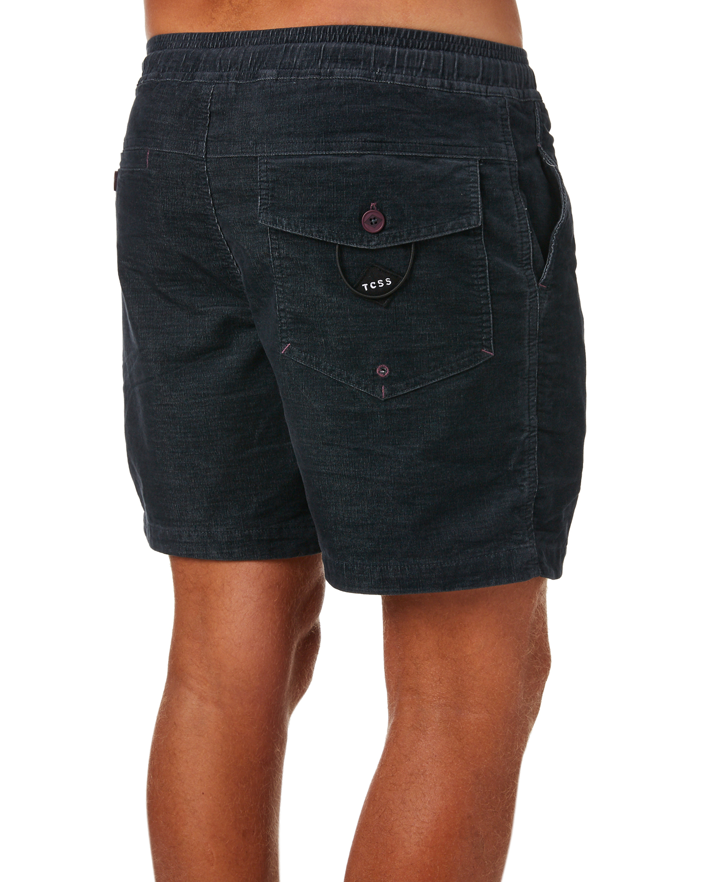 New-The-Critical-Slide-Society-Men-039-s-Honest-Mens-Cord-Short-Red