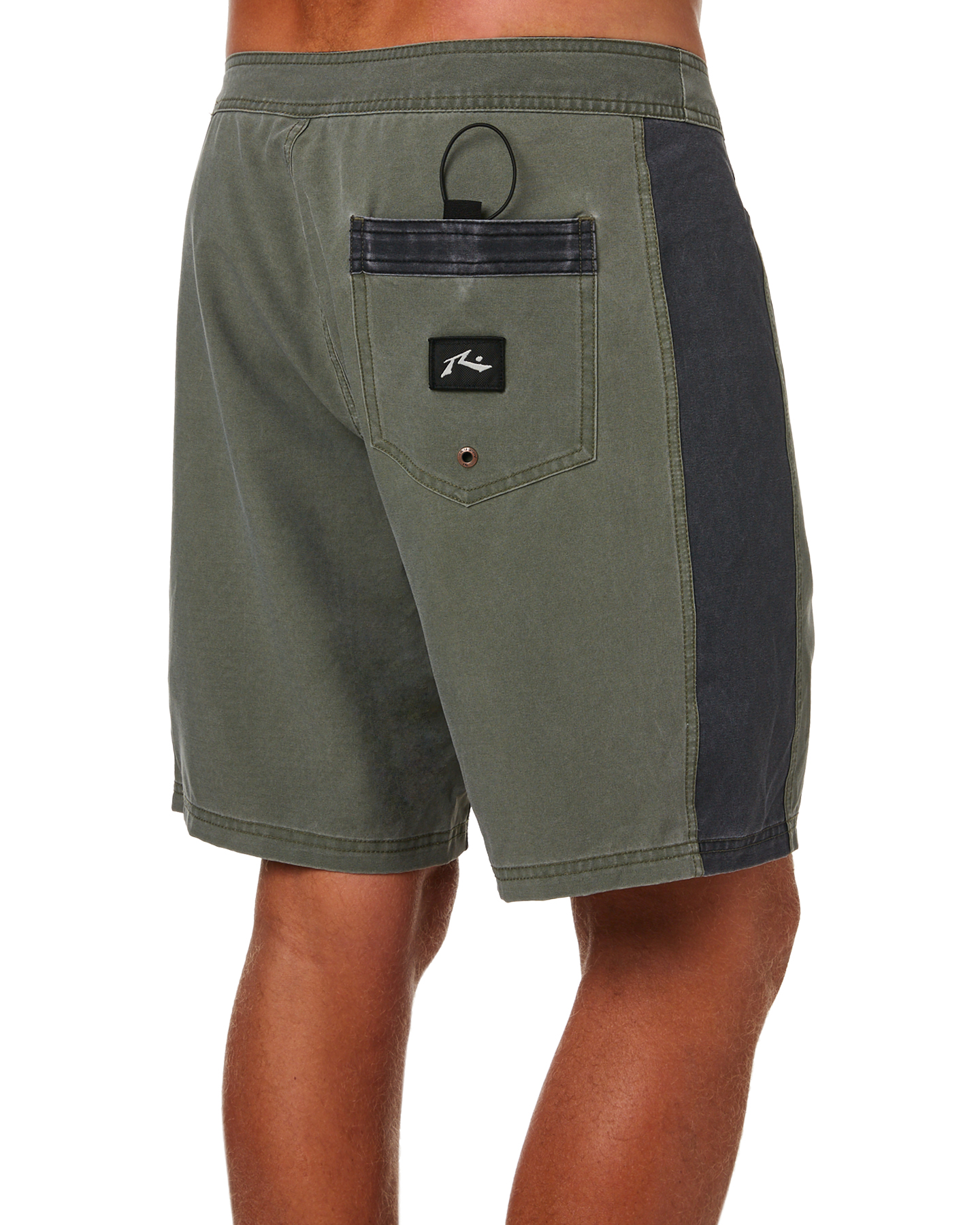 9845b7e0d3 New Rusty Men's Jiggy Jigs Mens Boardshort Fitted Spandex Grey | eBay