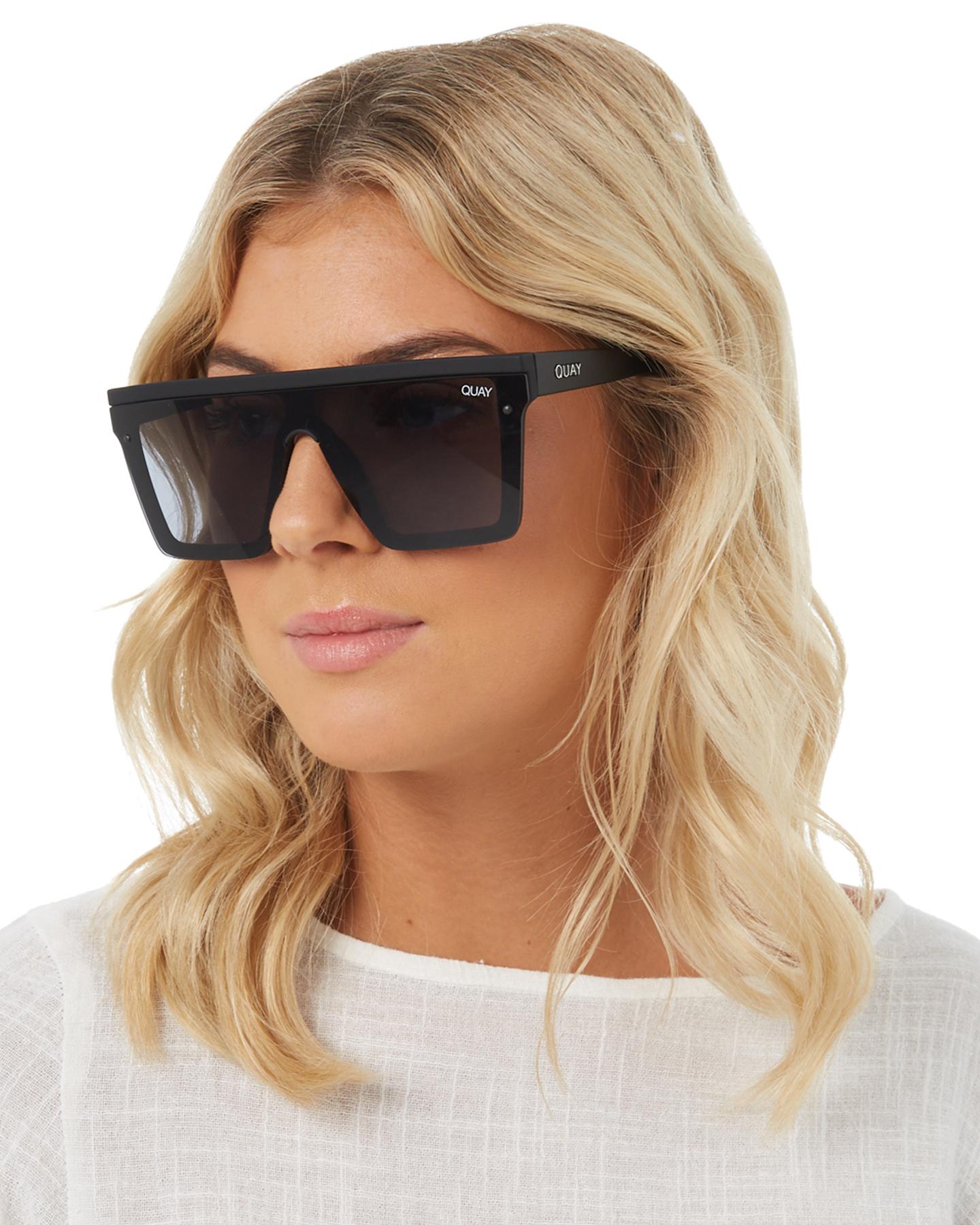 New-Quay-Eyewear-Women-039-s-Hindsight-Sunglasses-Stainless-Steel-Glass-Pink thumbnail 20