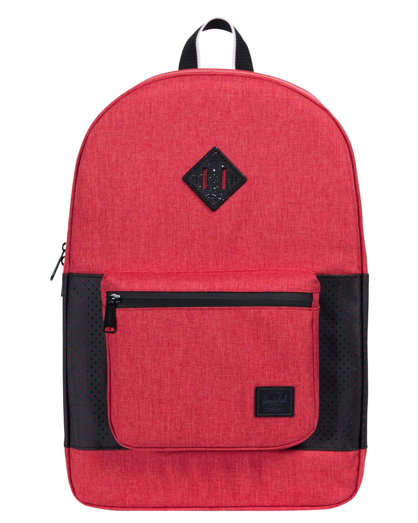 3364586434 Herschel Supply Co Men s Ruskin Aspect 22L Backpack Rubber Waterproof Red