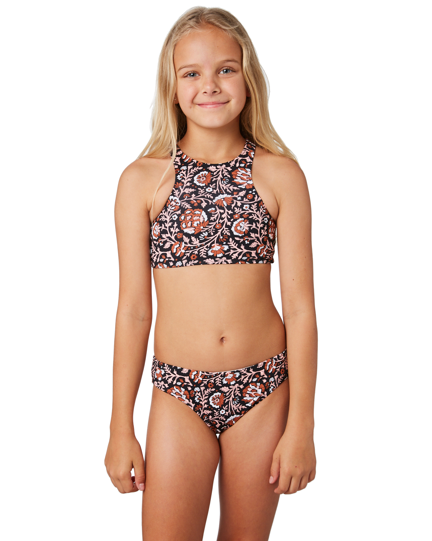 4ad0d21f256db The Hidden Way Kids Girls Jules Bikini Henna Girls swimsuits Available on  sale now in size 8 ...