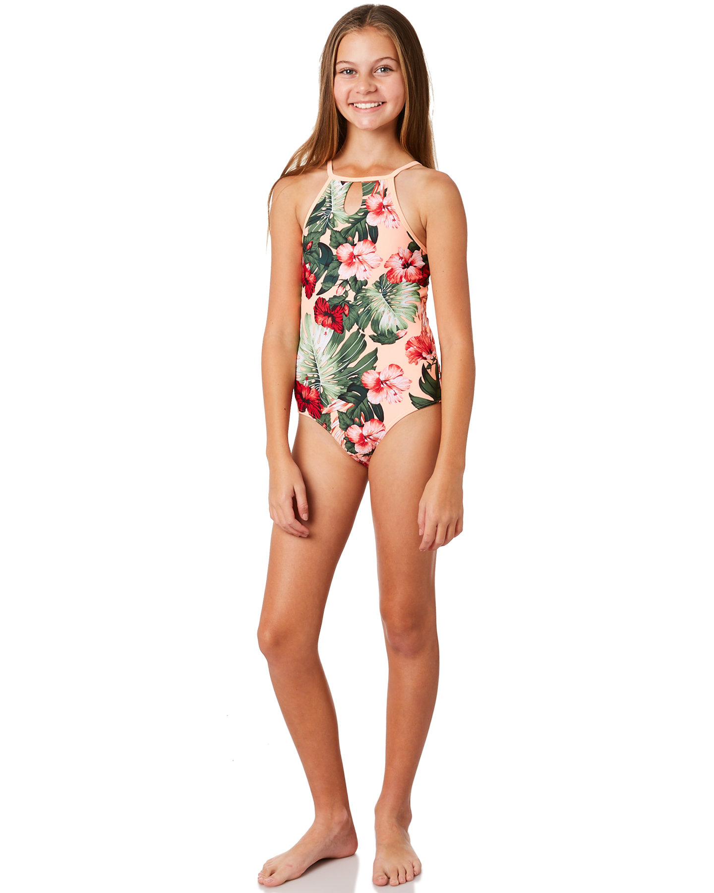 f62d6ed5f6 Details about New Rip Curl Girls Girls Hanalei Beats 1 Piece - Teens Fitted  Blue