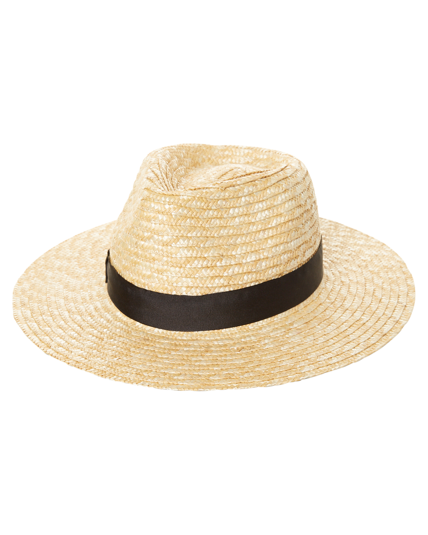 New Lack Of Color Women s The Spencer Fedora Hat Natural  b6a9eea6bfa