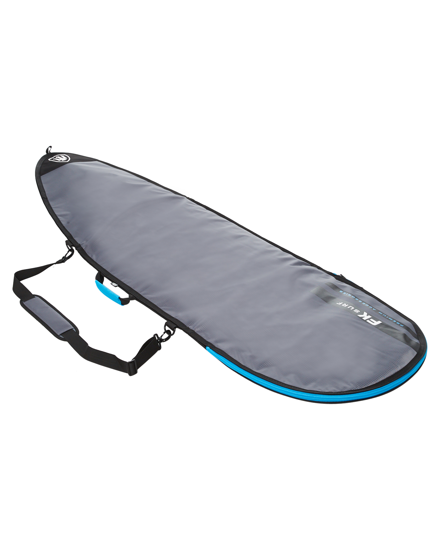 Fk Surf 5Ft8 - 6Ft7 All Rounder Surfboard Cover Charcoal Silver Charcoal Silver