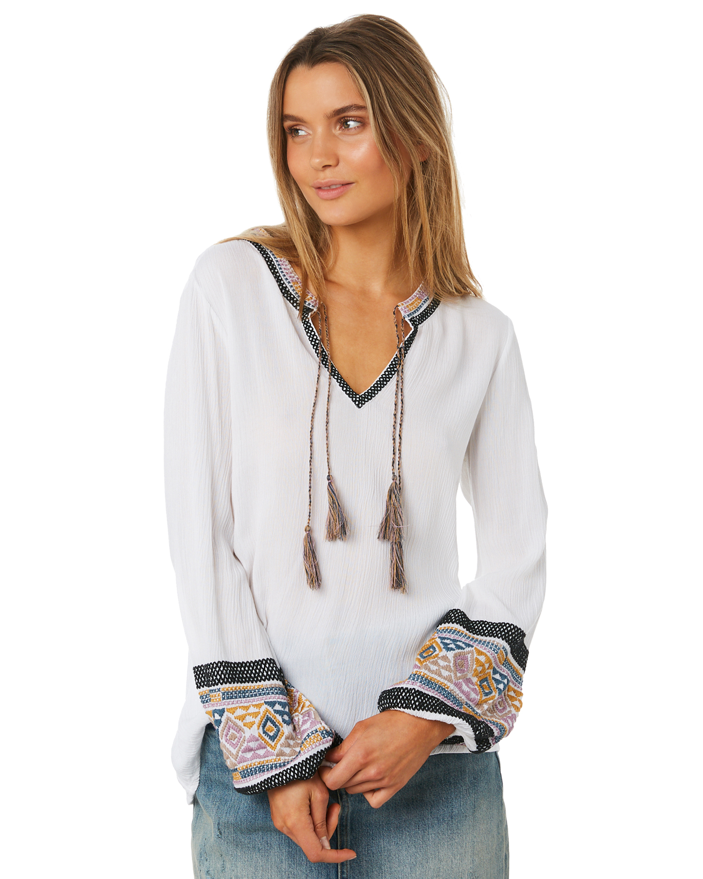 15222e187 Tigerlily Maelynn Blouse White Womens Tops Available on sale now in size 8  ...
