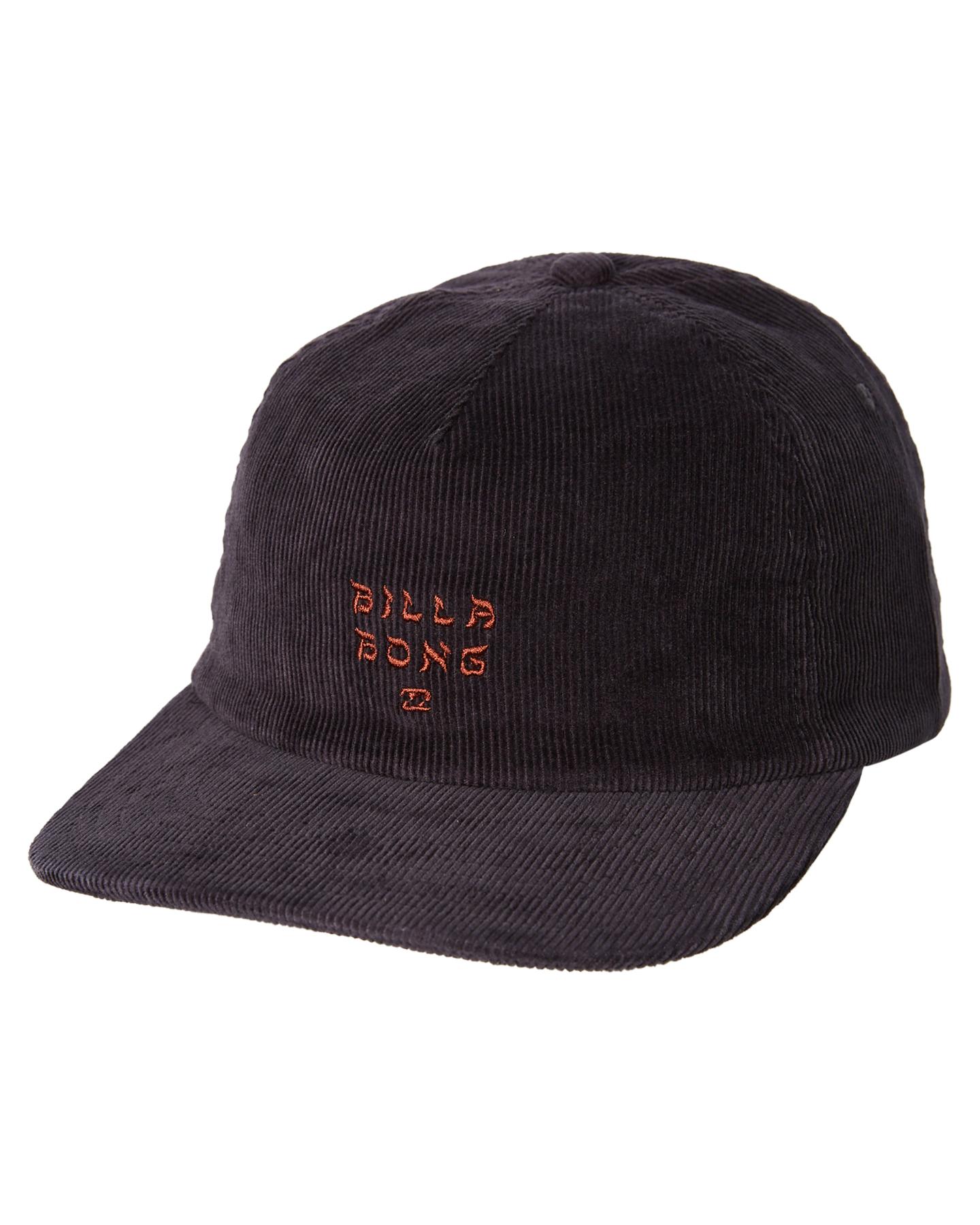 Details about New Billabong Men s Peyote Cord Snapback Cap Cotton Corduroy  Black 8e16ed15a5