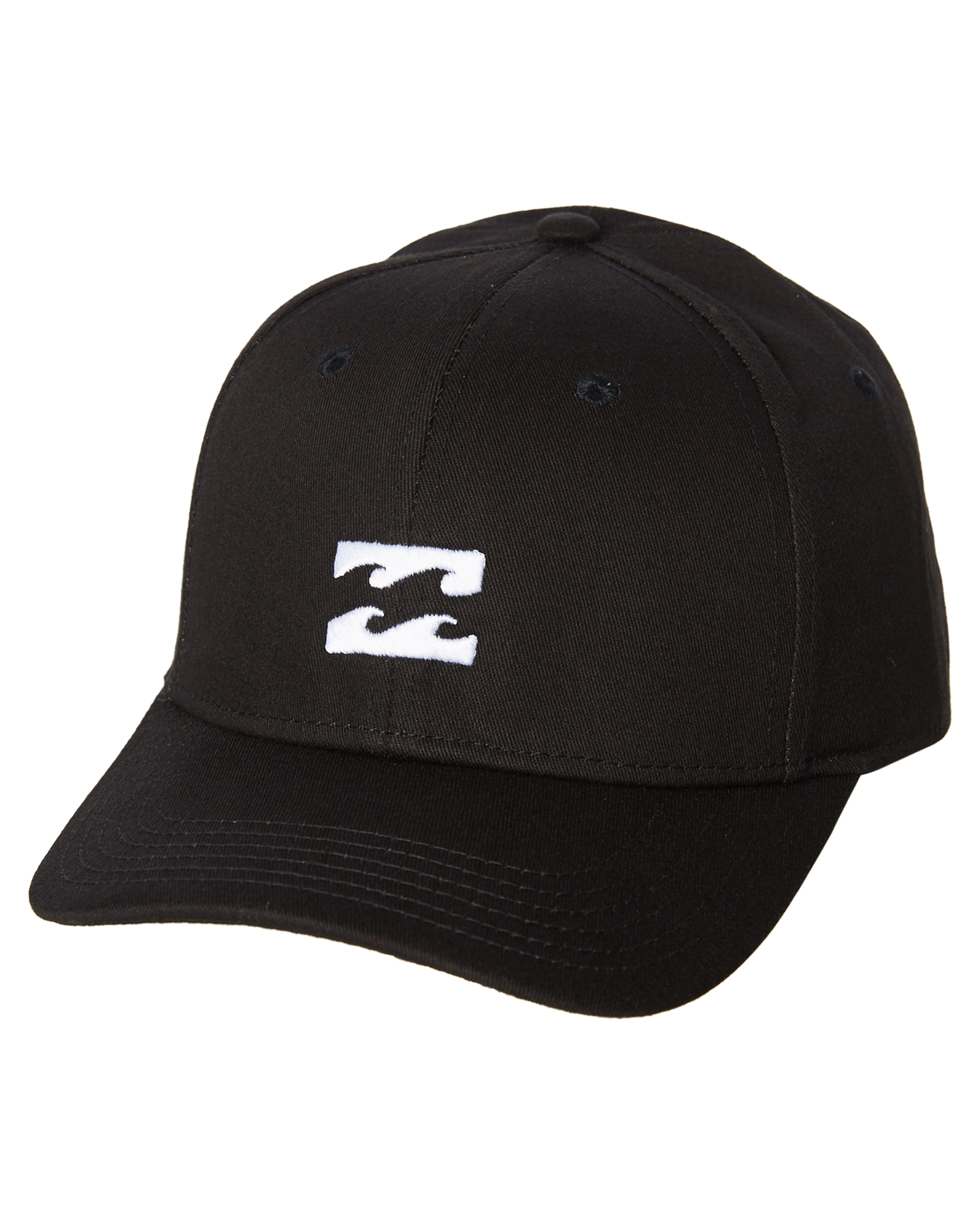cd07e07443e New Billabong Men s All Day Stretch Fitted Cap Cotton Fitted Elastane Black