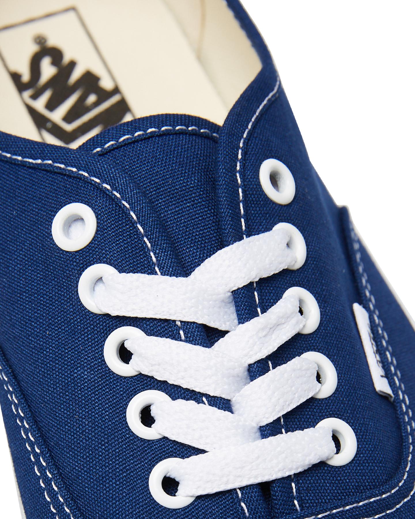 517786253e New Vans Women s Womens Authentic Shoe Lace Canvas Blue
