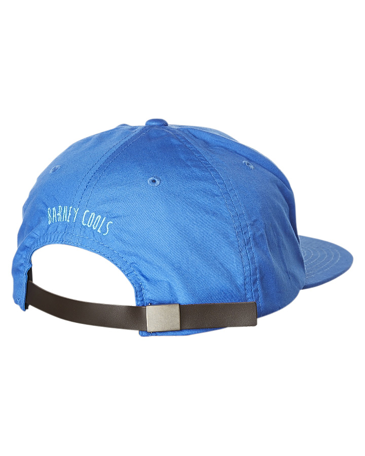 Barney Cools Men s Signature B.Cools Snapback Cap Plastic Nylon Blue ... 7eb7db7541c8