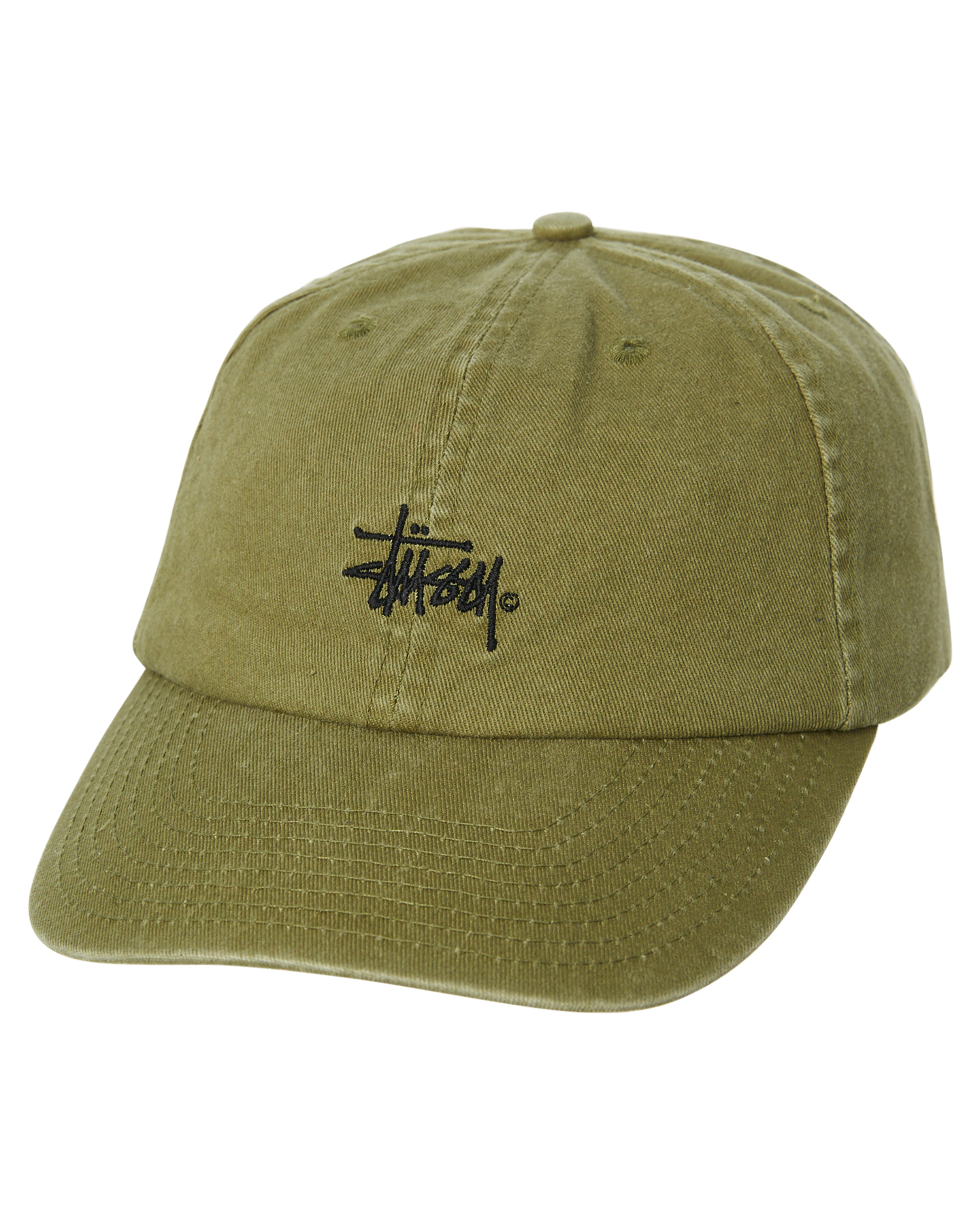 564af35d3e47aa Details about New Stussy Men's Graffiti Low Pro Strapback Cap Cotton  Polyester Green