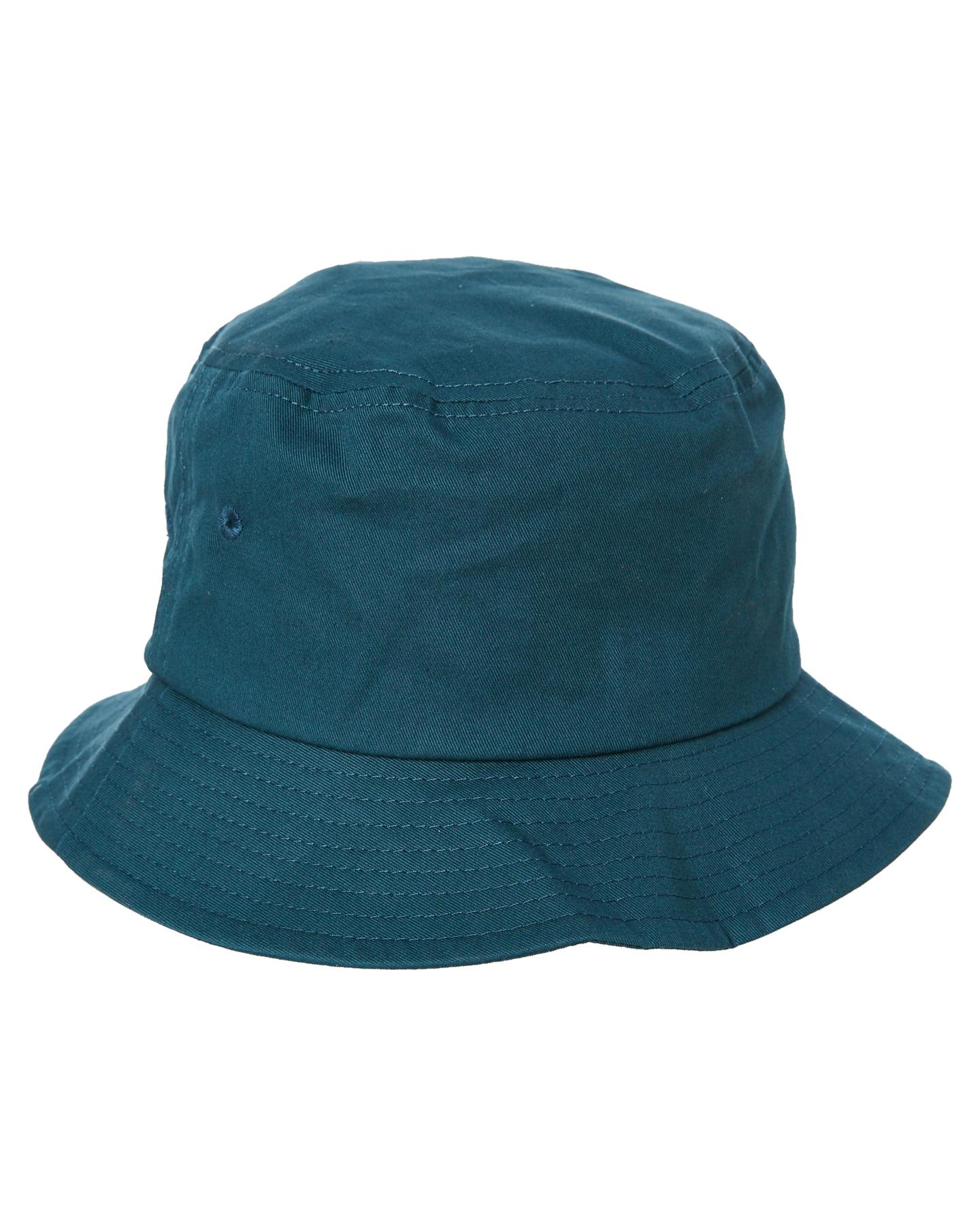 3054fc7b23b New Stussy Men s Stock Bucket Hat Cotton Soft Green