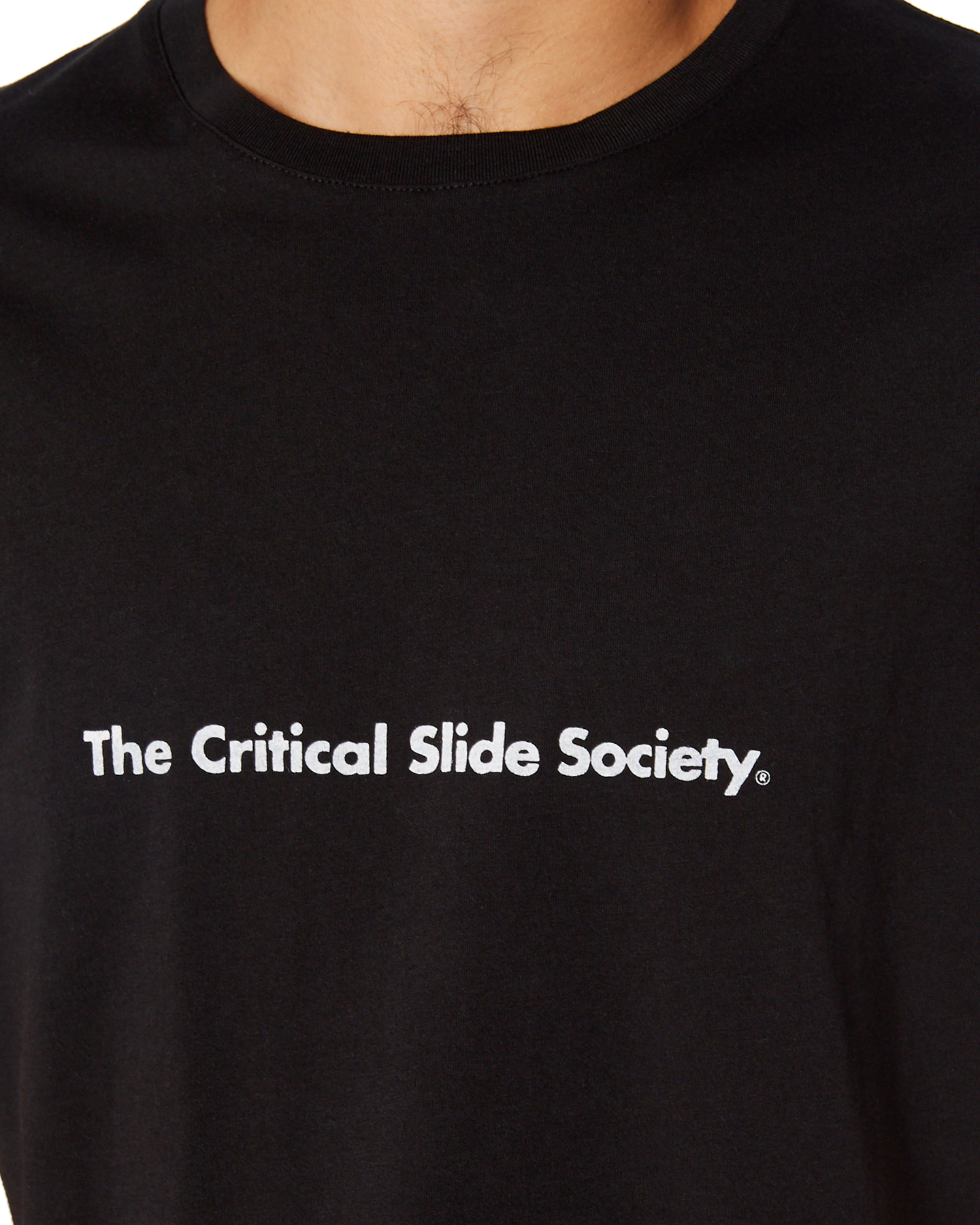 5f7b45f606 Details about New The Critical Slide Society Men's Commune Mens Tee Black