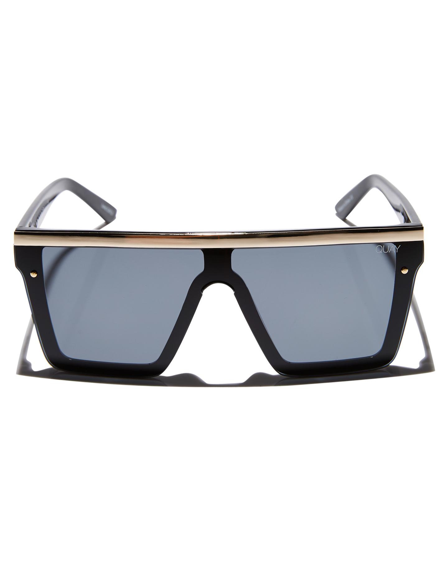 New-Quay-Eyewear-Women-039-s-Hindsight-Sunglasses-Stainless-Steel-Glass-Pink thumbnail 7