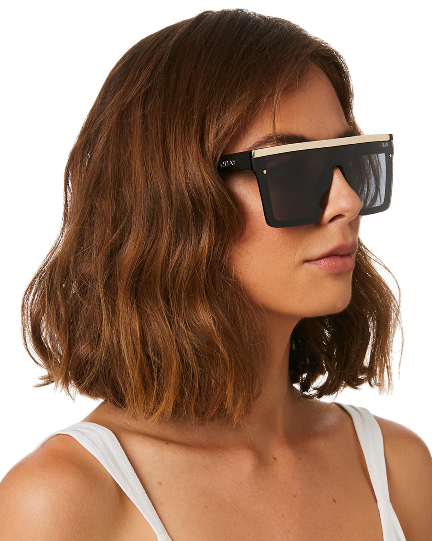 New-Quay-Eyewear-Women-039-s-Hindsight-Sunglasses-Stainless-Steel-Glass-Pink thumbnail 10