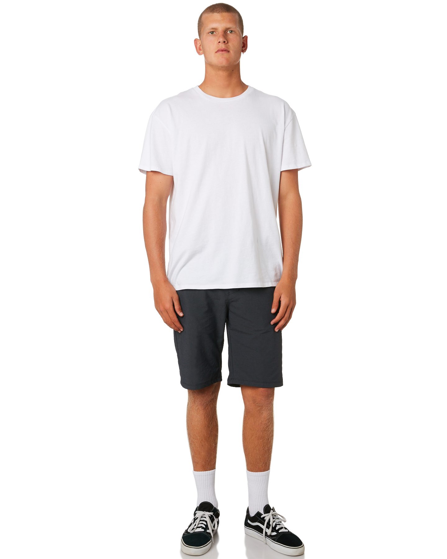 New-Hurley-Men-039-s-Dri-Fit-Chino-Short-21In-Mens-Short-Fitted-Spandex-Grey thumbnail 10