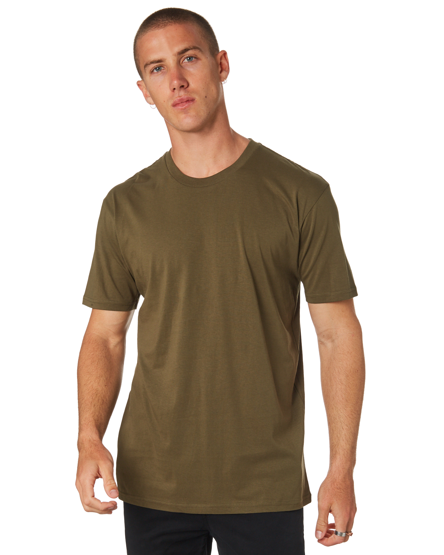As Colour Staple Tee Army Army