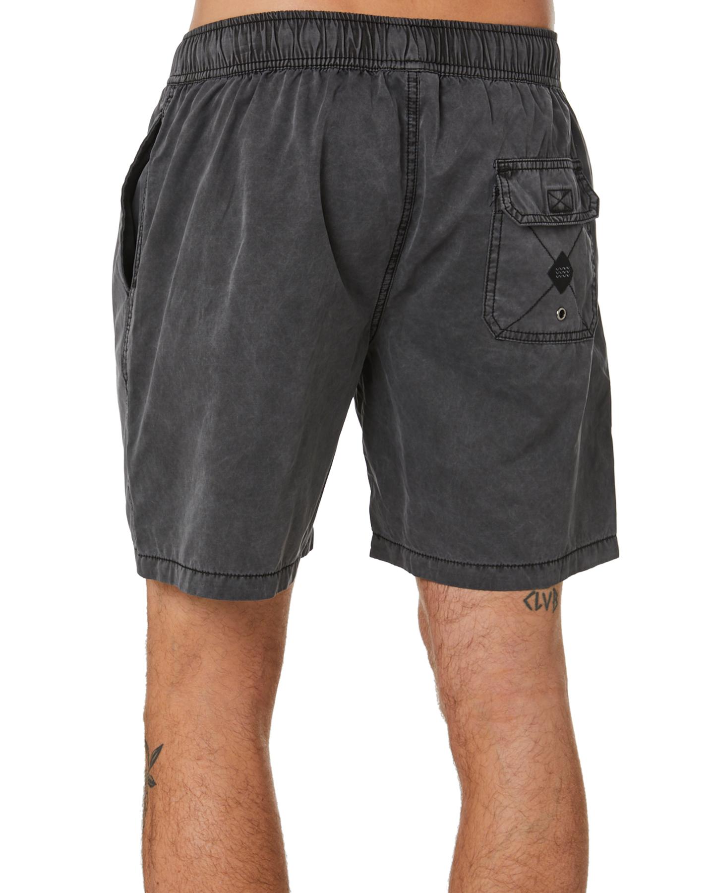 New-Swell-Men-039-s-Malibu-Mens-Beach-Short-Cotton-Polyester-Grey thumbnail 9