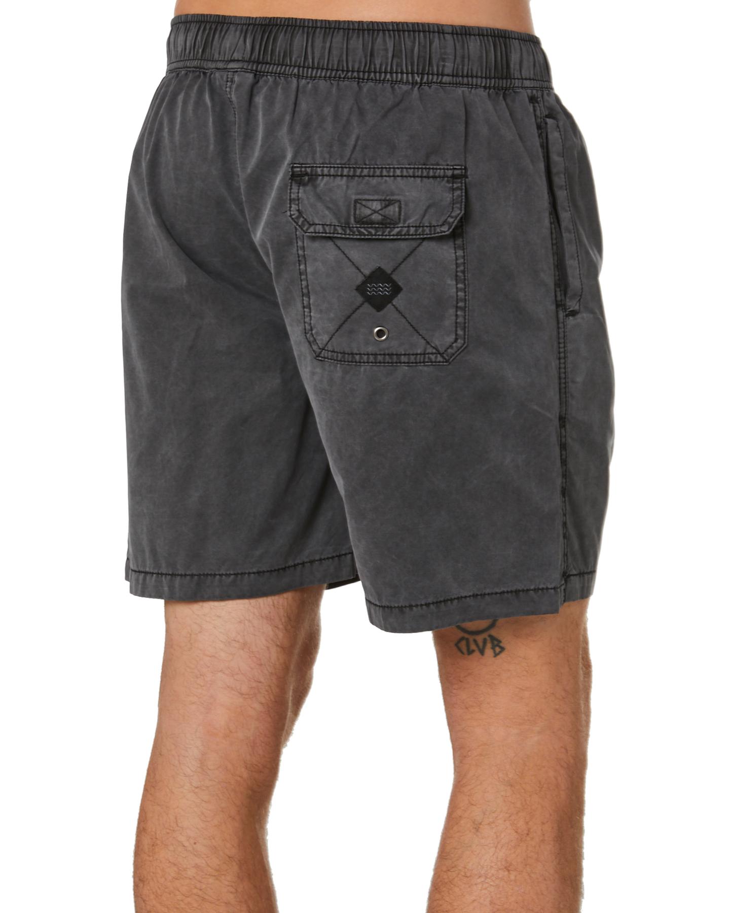 New-Swell-Men-039-s-Malibu-Mens-Beach-Short-Cotton-Polyester-Grey thumbnail 10