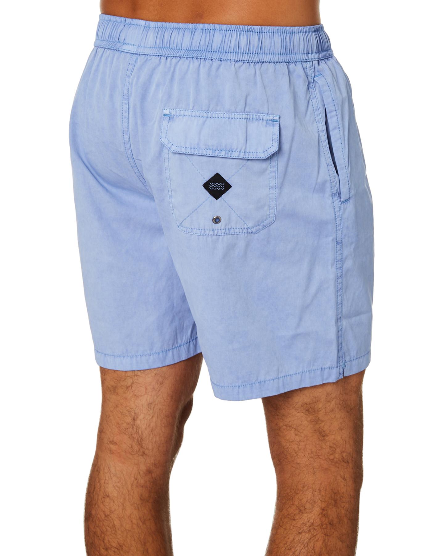 New-Swell-Men-039-s-Malibu-Mens-Beach-Short-Cotton-Polyester-Grey thumbnail 22