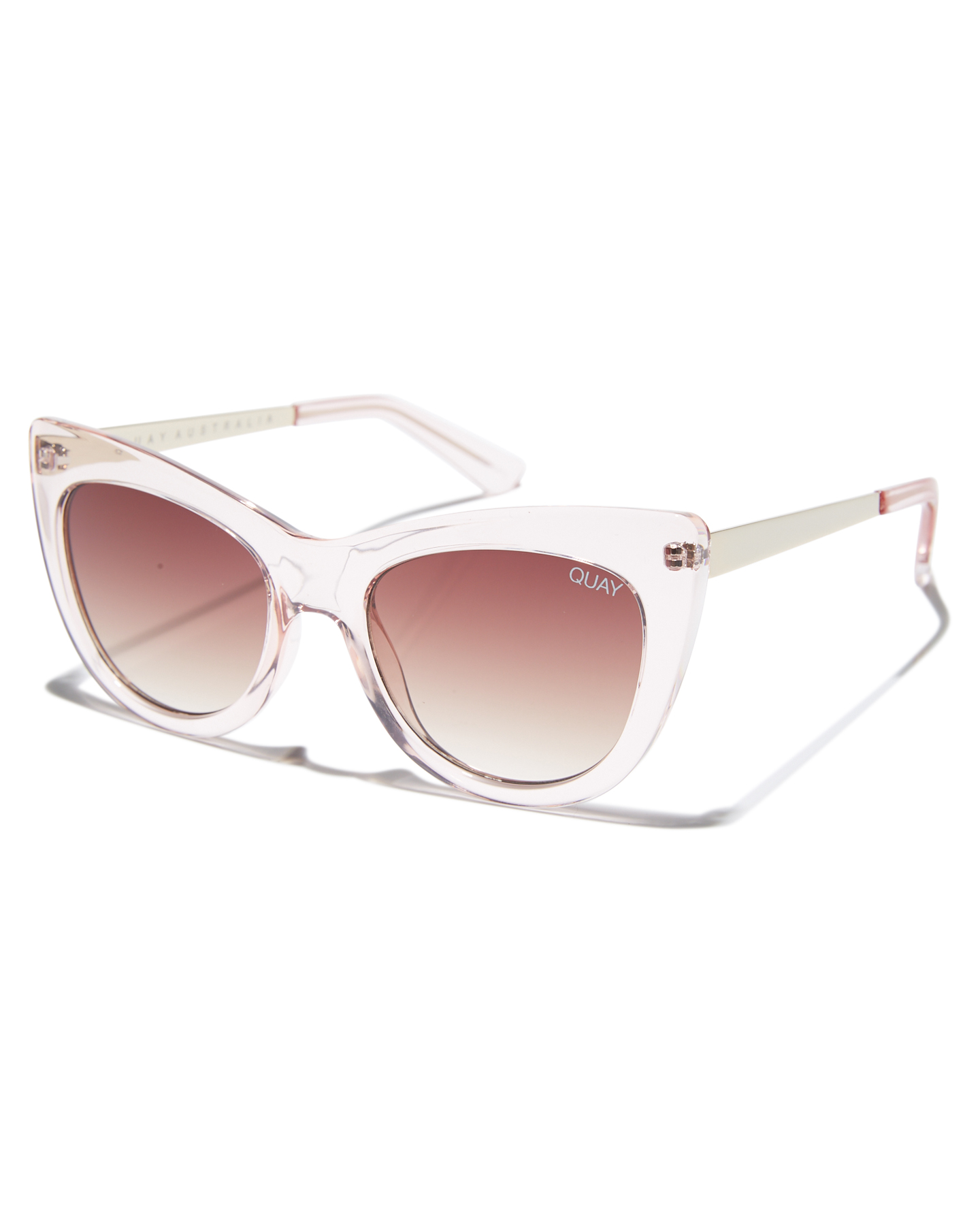 d476c5ab20 Details about New Quay Eyewear Women s Steal A Kiss Sunglasses Stainless  Steel Glass Pink N A