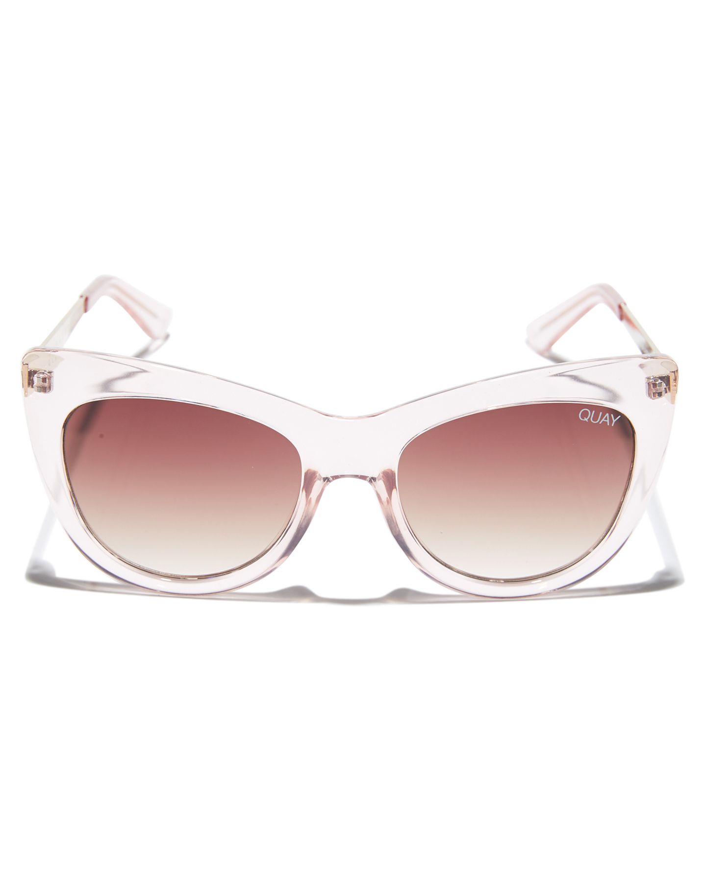 8b1a1c60a5a New Quay Eyewear Women s Steal A Kiss Sunglasses Stainless Steel Glass Pink  N A