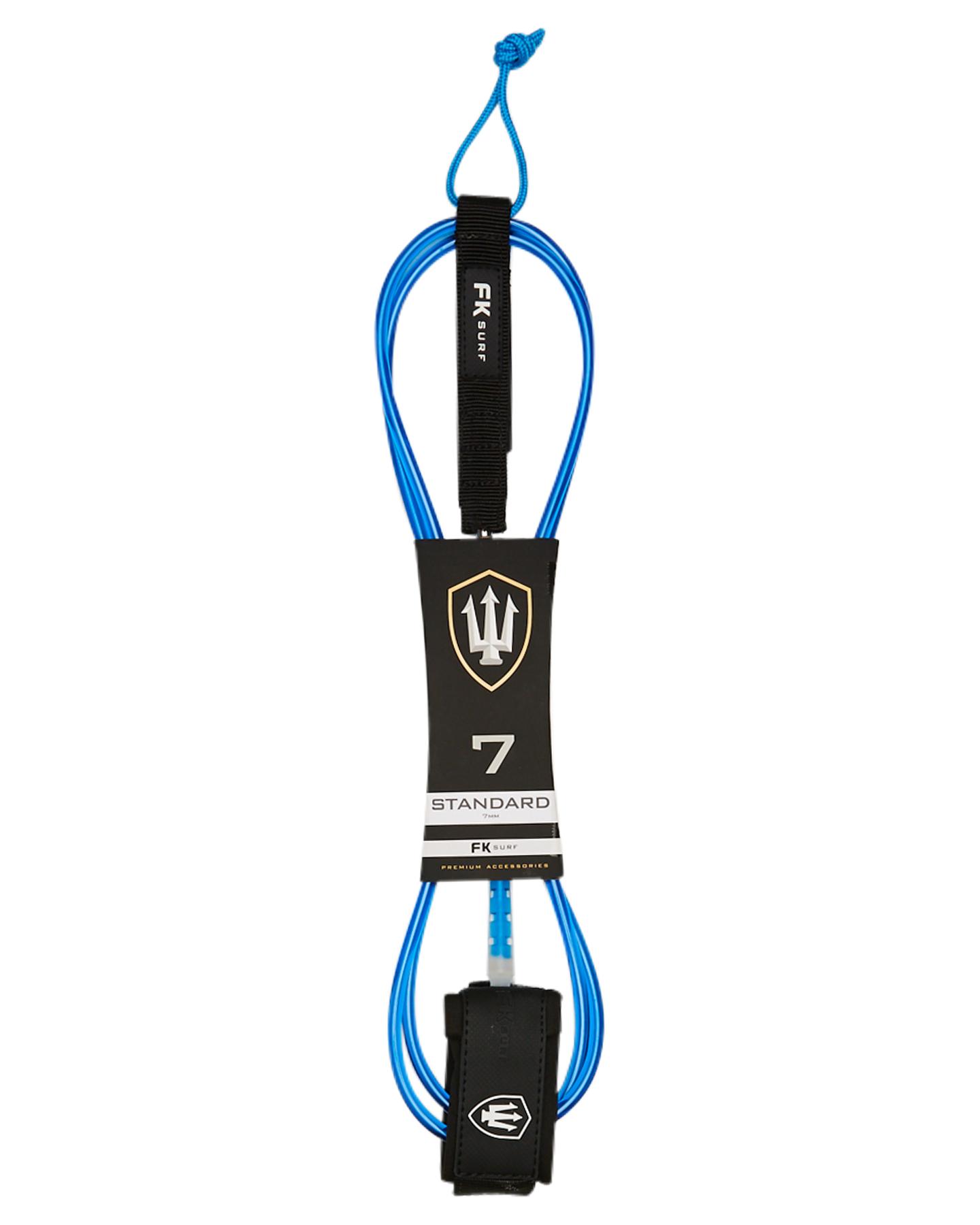 Fk Surf Standard 7Ft Leash Blue White