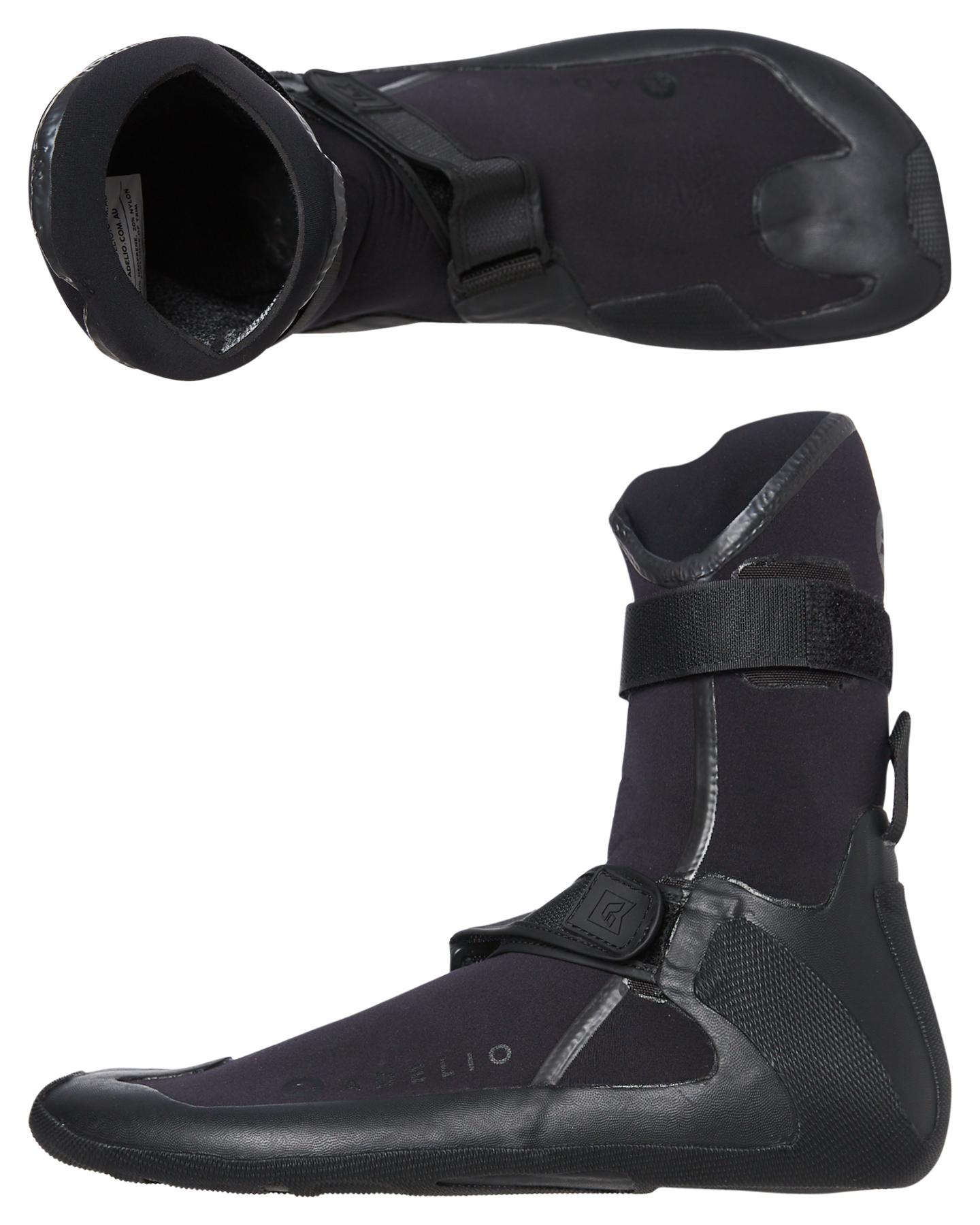 Adelio Deluxe 3Mm Wetsuit Booties Black