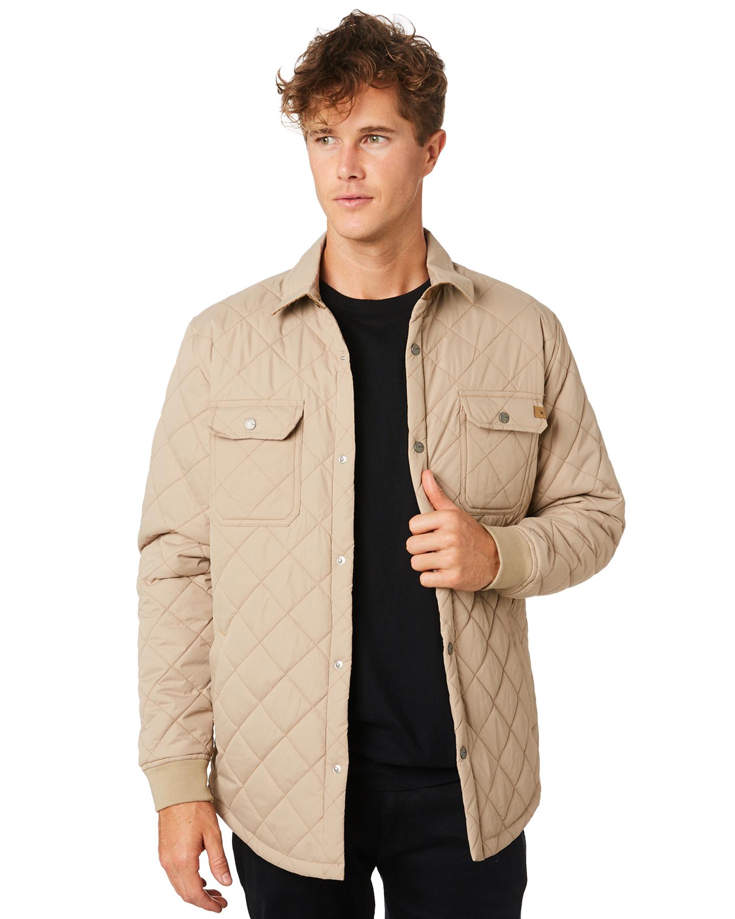 5a47873bd2 Details about New Rip Curl Men's Dover Anti Series Mens Jacket Khaki