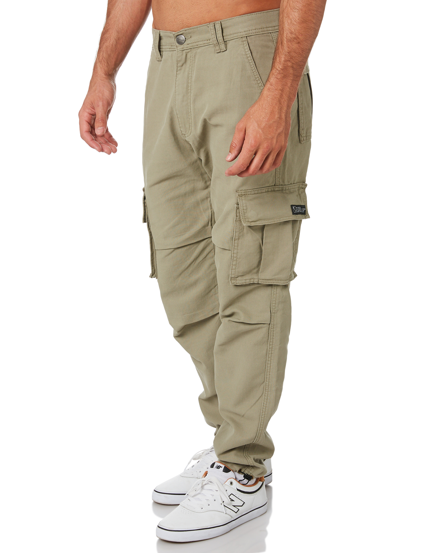 New-Nena-And-Pasadena-Men-039-s-Apache-Mens-Cargo-Pant-Cotton-Fitted-Natural thumbnail 12