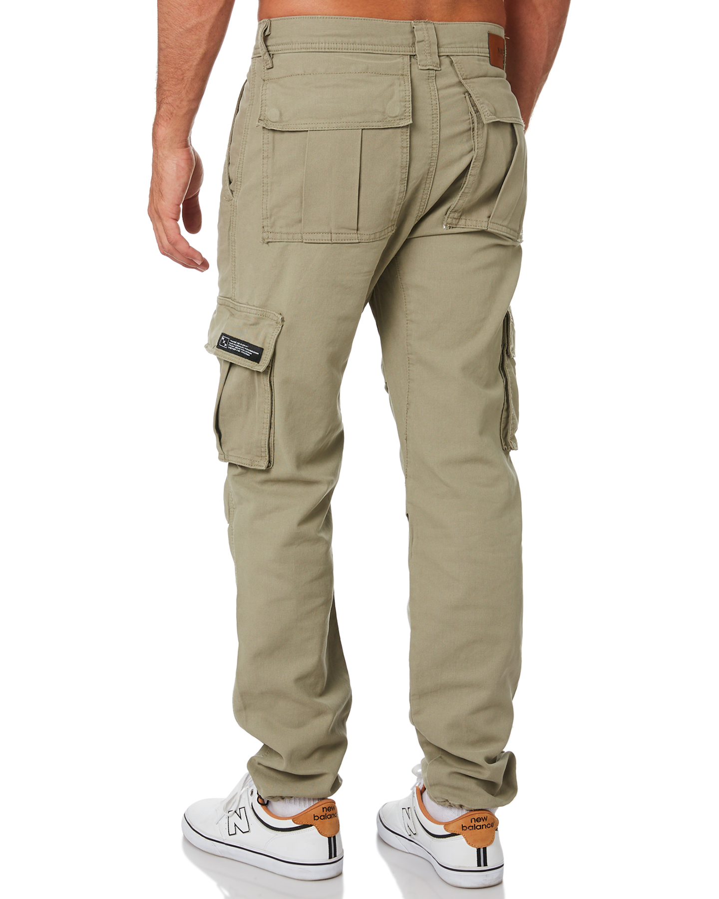 New-Nena-And-Pasadena-Men-039-s-Apache-Mens-Cargo-Pant-Cotton-Fitted-Natural thumbnail 13