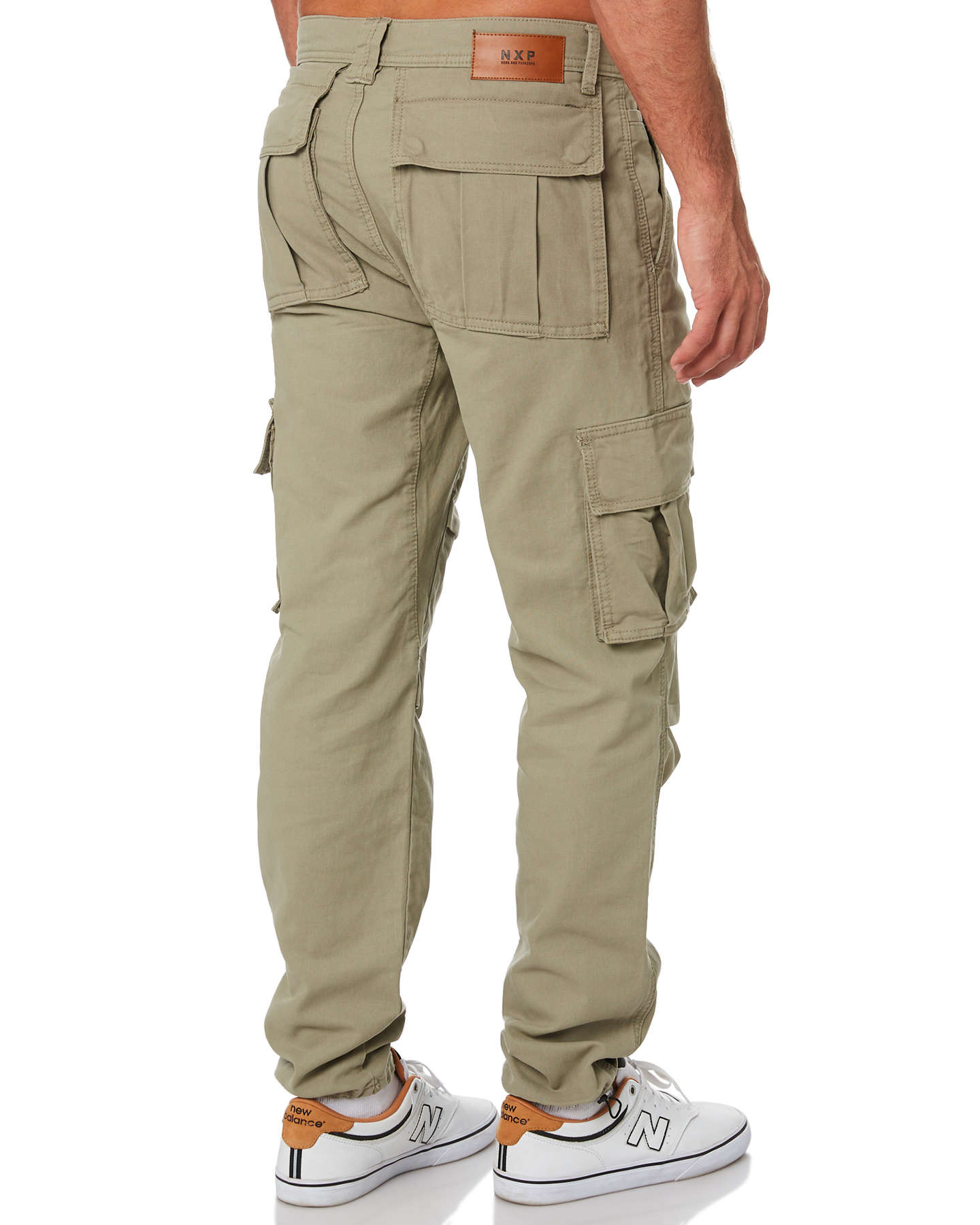 New-Nena-And-Pasadena-Men-039-s-Apache-Mens-Cargo-Pant-Cotton-Fitted-Natural thumbnail 14
