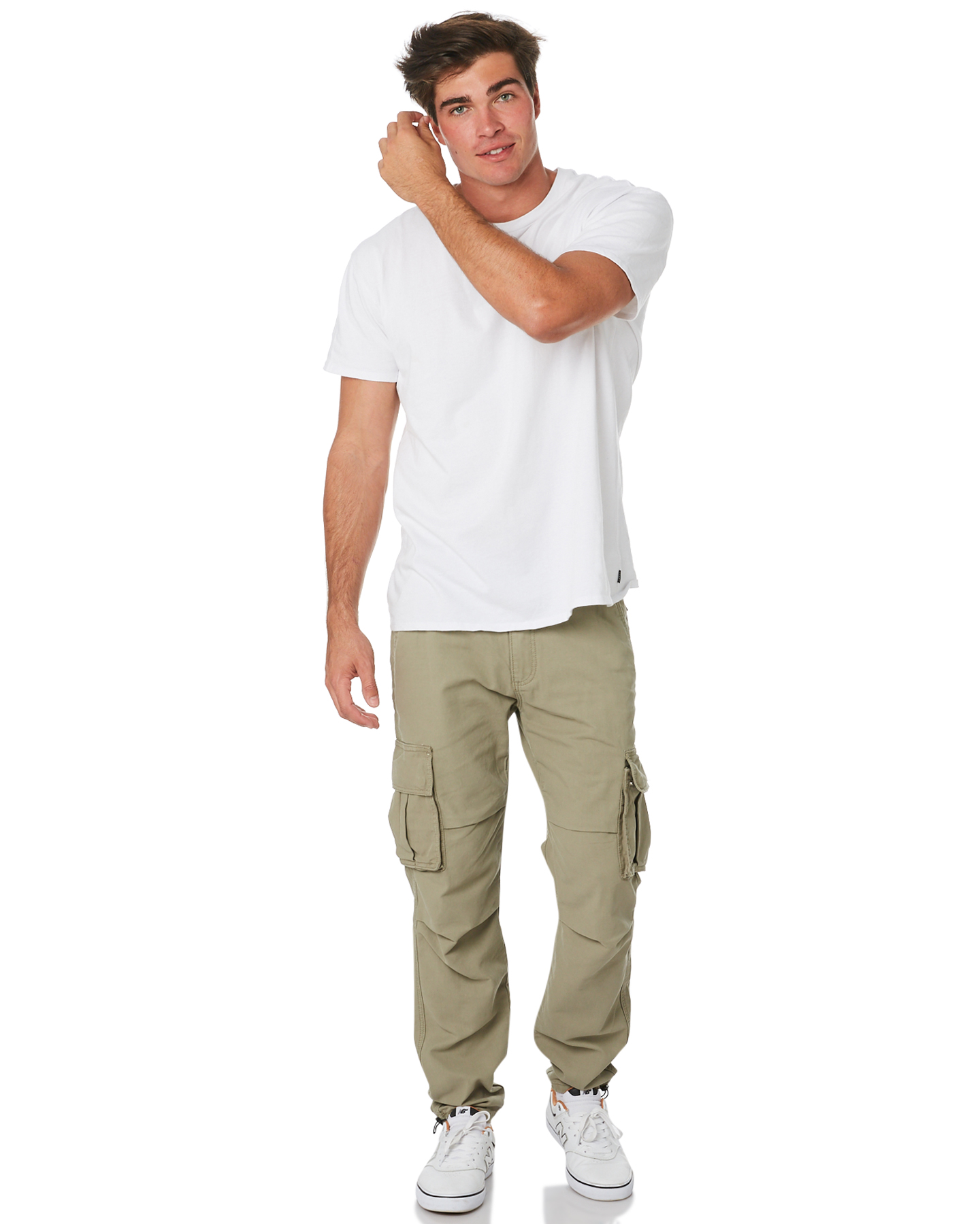 New-Nena-And-Pasadena-Men-039-s-Apache-Mens-Cargo-Pant-Cotton-Fitted-Natural thumbnail 15