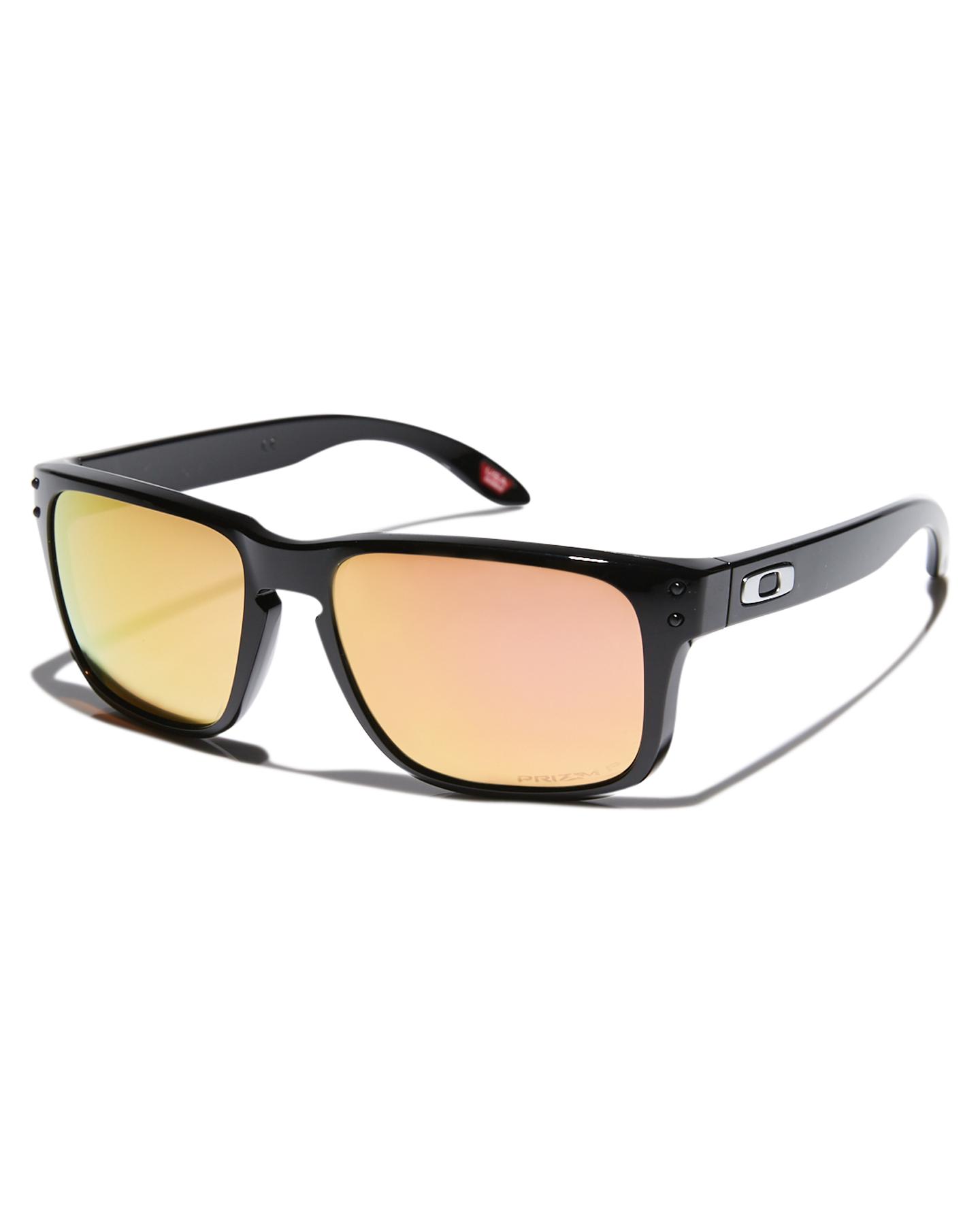 Oakley Youth Holbrook Xs Polarized Sunglasses Polished Black Prizm