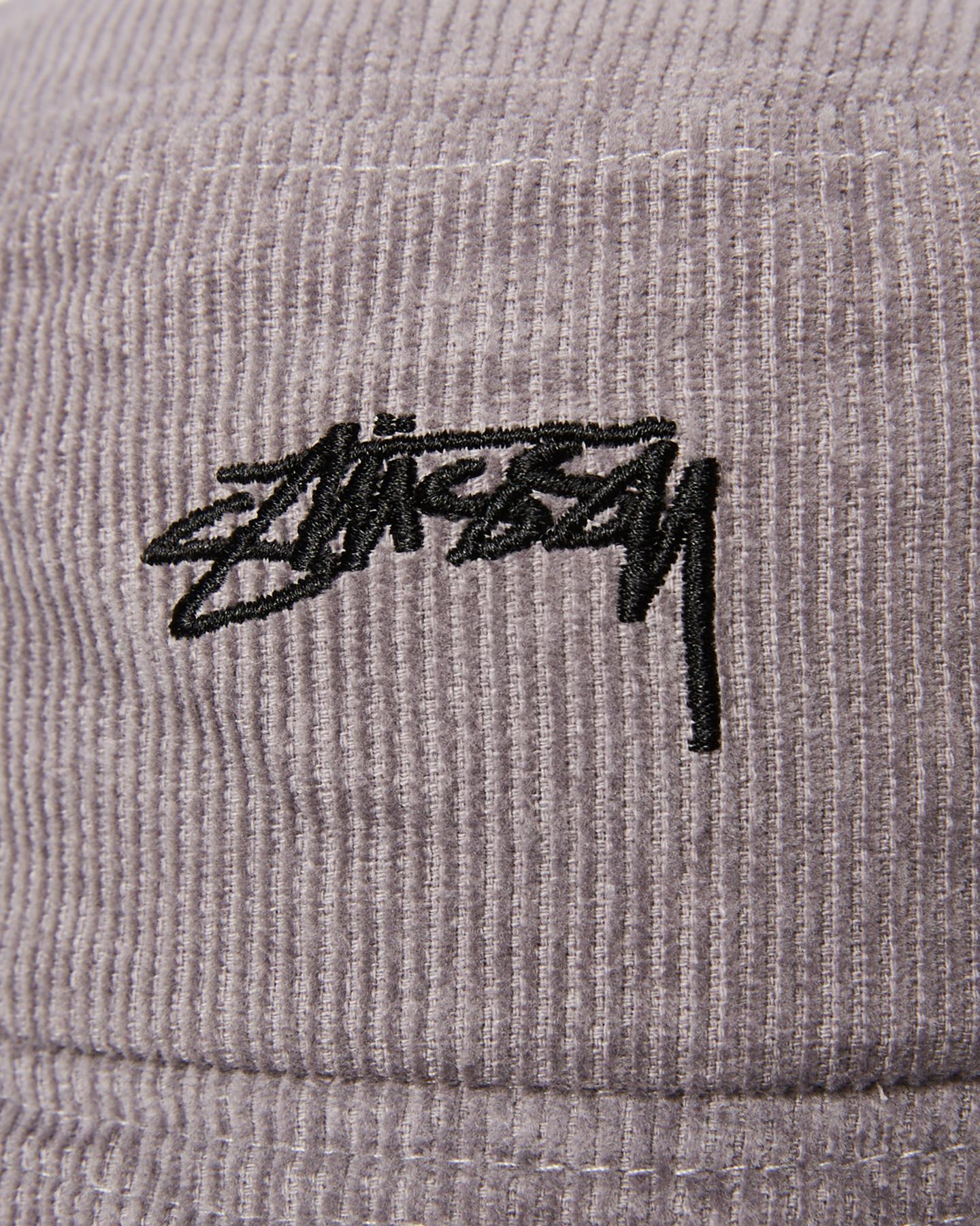 d11a8d616 Details about New Stussy Men's Authentic Cord Bucket Hat Cotton Soft  Corduroy Red