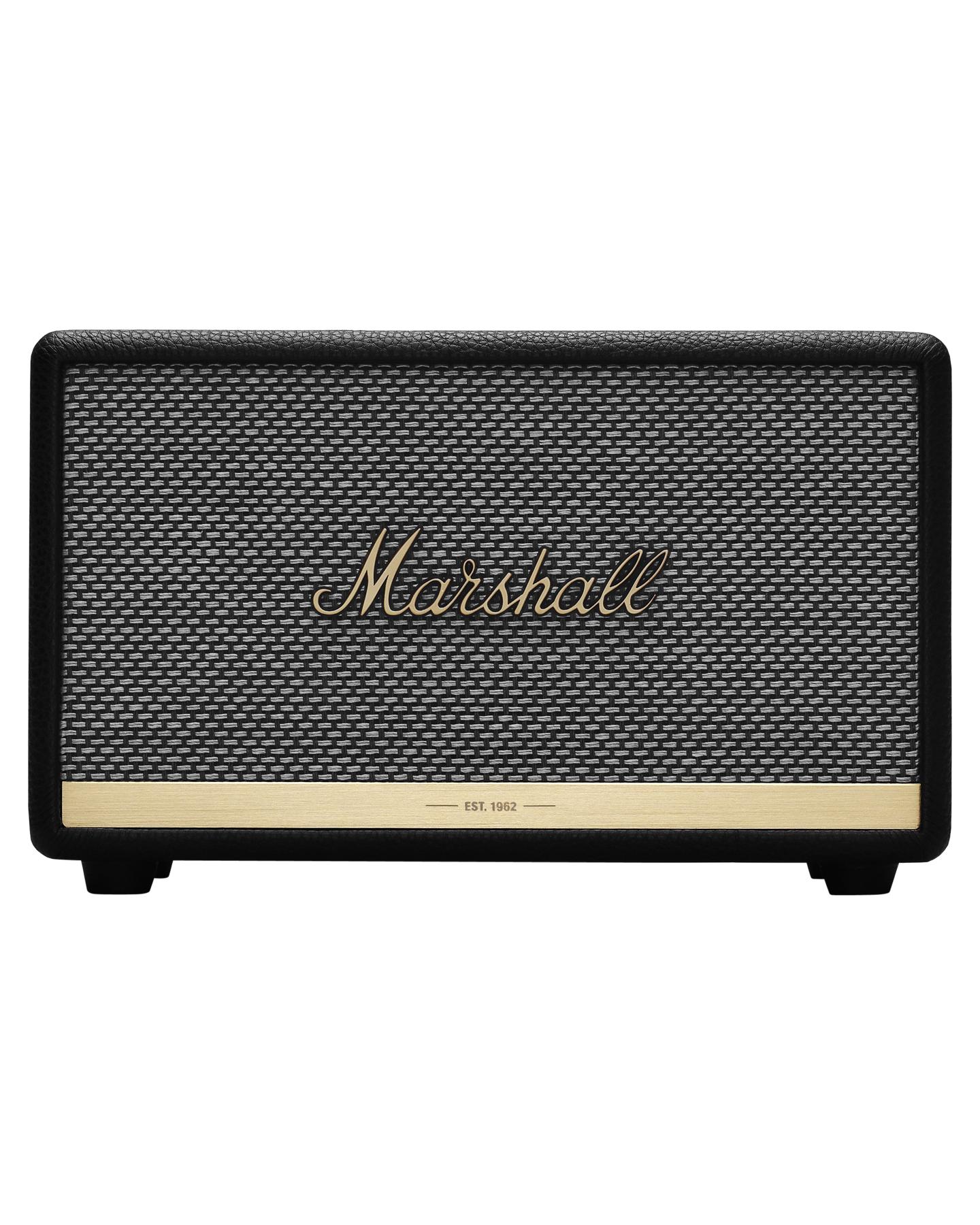 Marshall Acton Ii Voice Wireless Voice Speaker Black